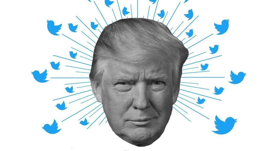 President Donald Trump's Twitter handle appeared in more tweets than any other elected official in the US in 2017, according to data from the social network.   Trump tweet graphic (File Photo)