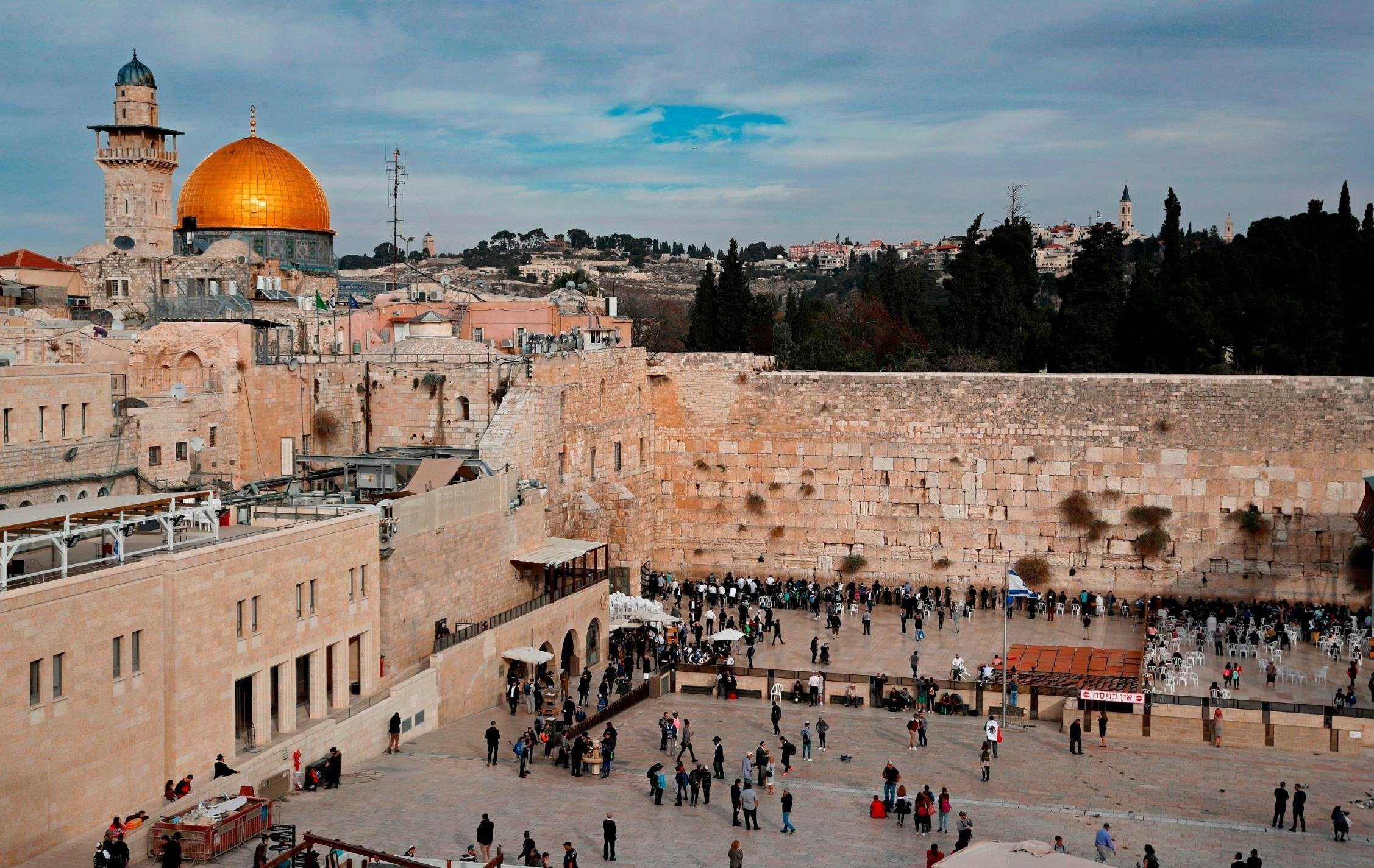 **This image is for use with this specific article only.**  The final status of Jerusalem has always been one of the most difficult and sensitive questions in the Israeli-Palestinian conflict.