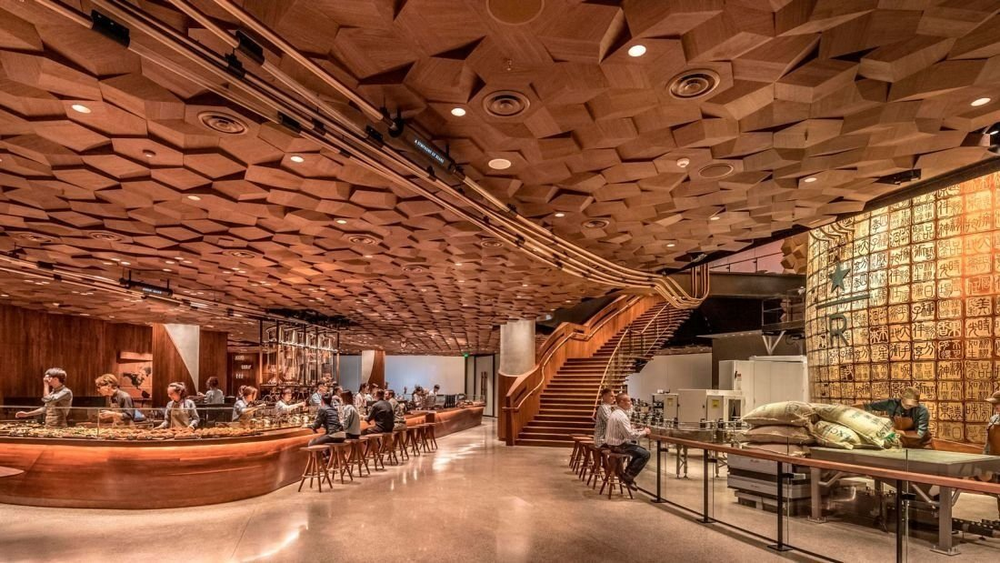 Inside the 30000-Square-Foot Starbucks Reserve Roastery in Shanghai