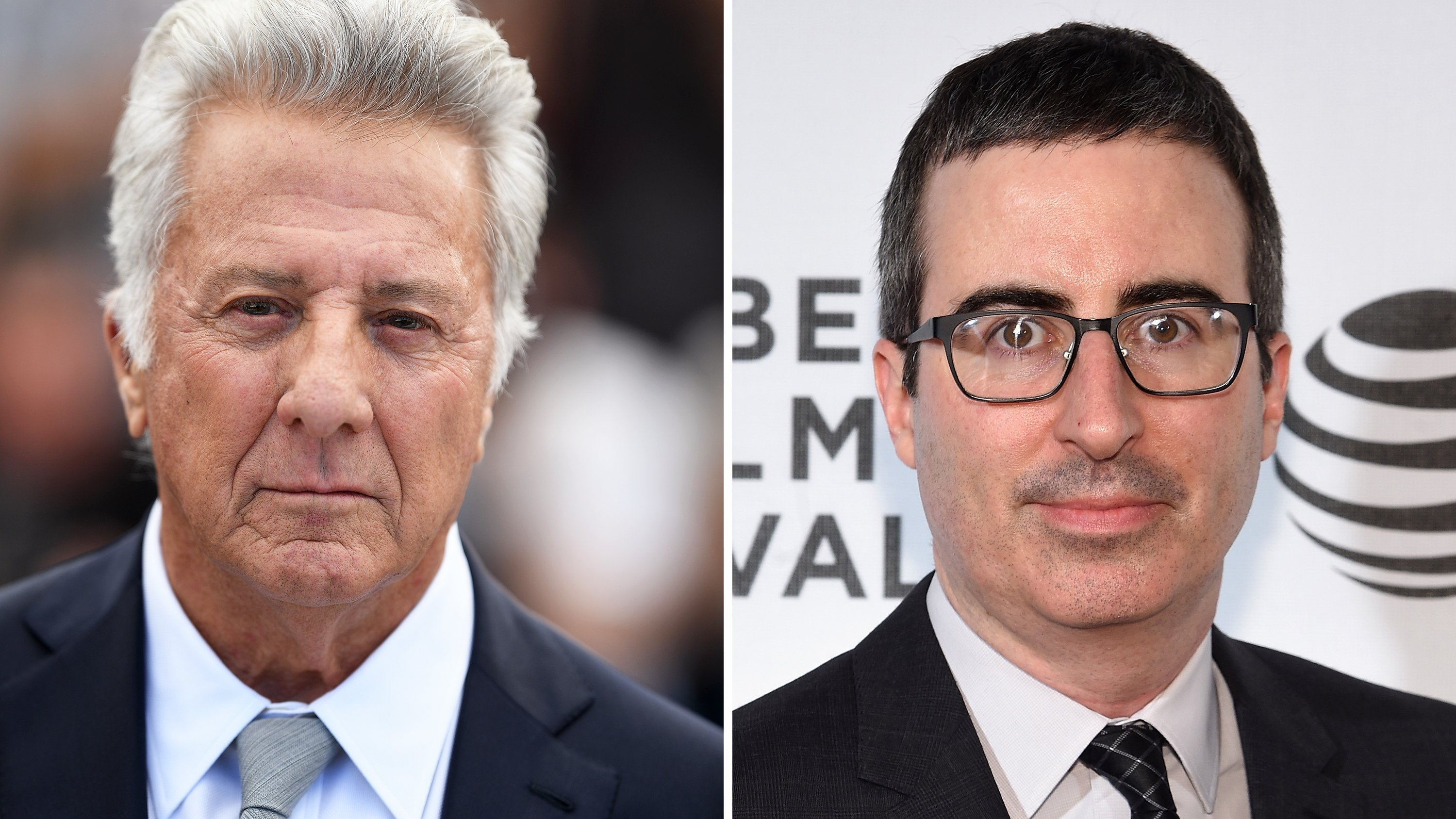 "**This image is for use with this specific article only.**  Dustin Hoffman and ""Last Week Tonight"" host John Oliver got into a heated discussion when Oliver brought up recent allegations of sexual harassment against the actor."