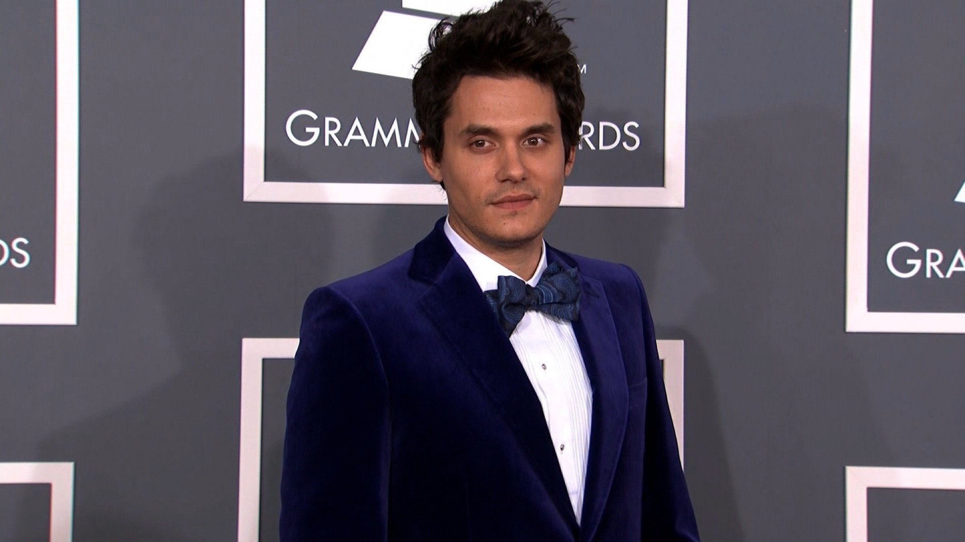 John Mayer is recovering following an emergency appendectomy, his representative confirms to CNN. The singer is seen here on the red carpet at the 2013 Grammys. (File Photo)