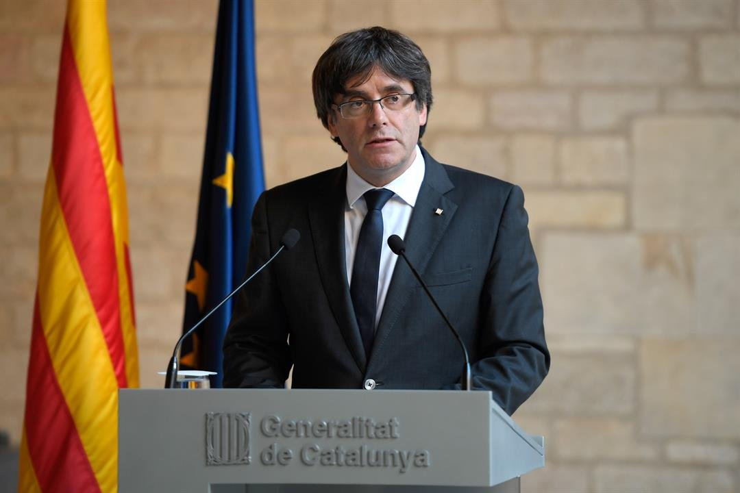 **This image is for use with this specific article only.**  Catalan president Carles Puigdemont fled to Belgium after the failed independence bid.