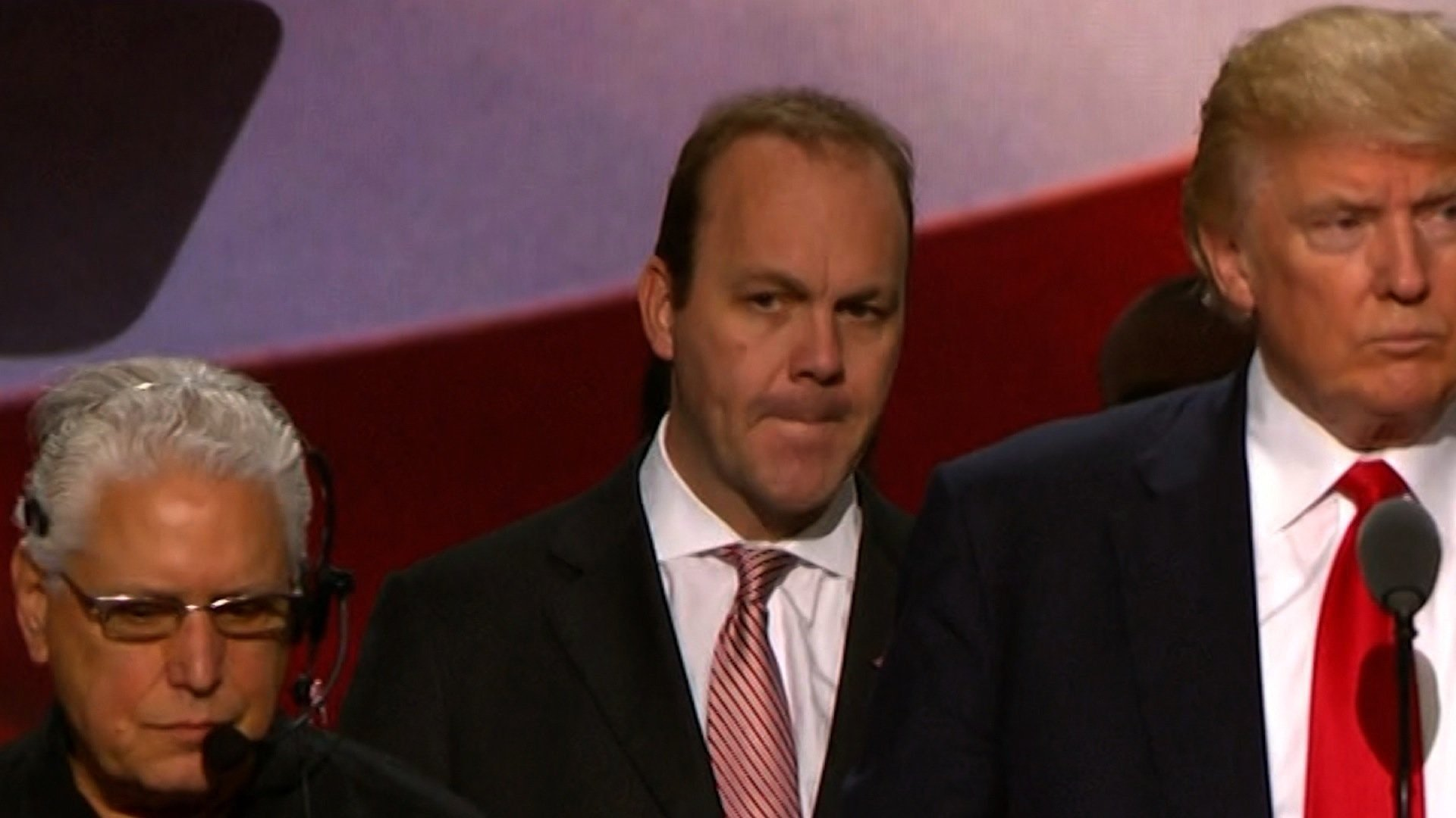 Former Trump campaign official Rick Gates is seen here at the RNC in 2016. (File Photo)