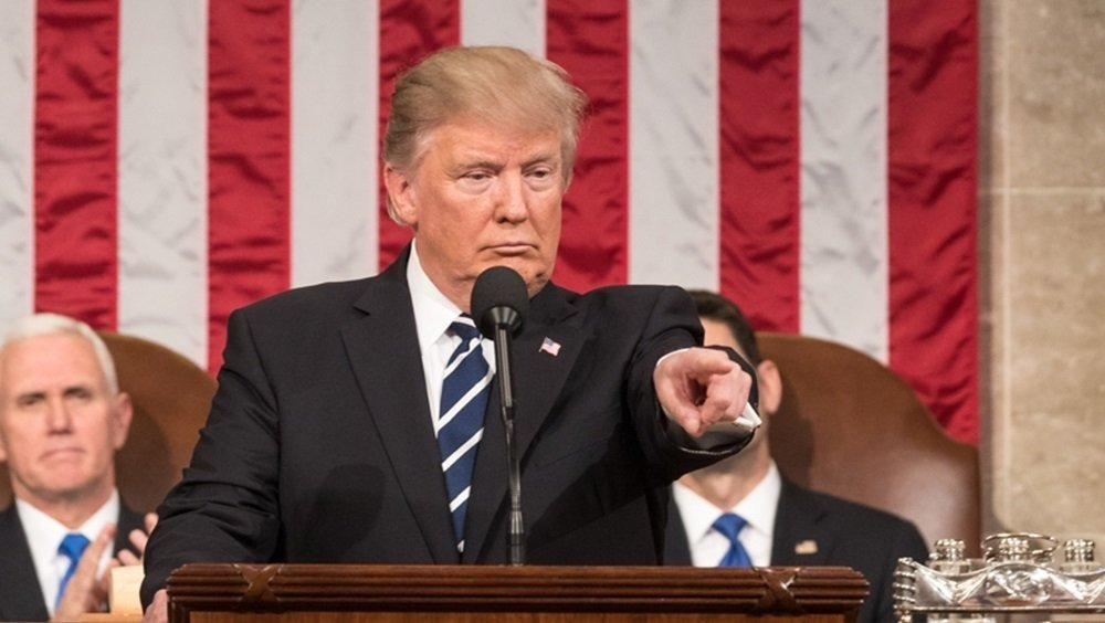 President Trump addressed a joint session of Congress for the first time on February  28th, 2017.