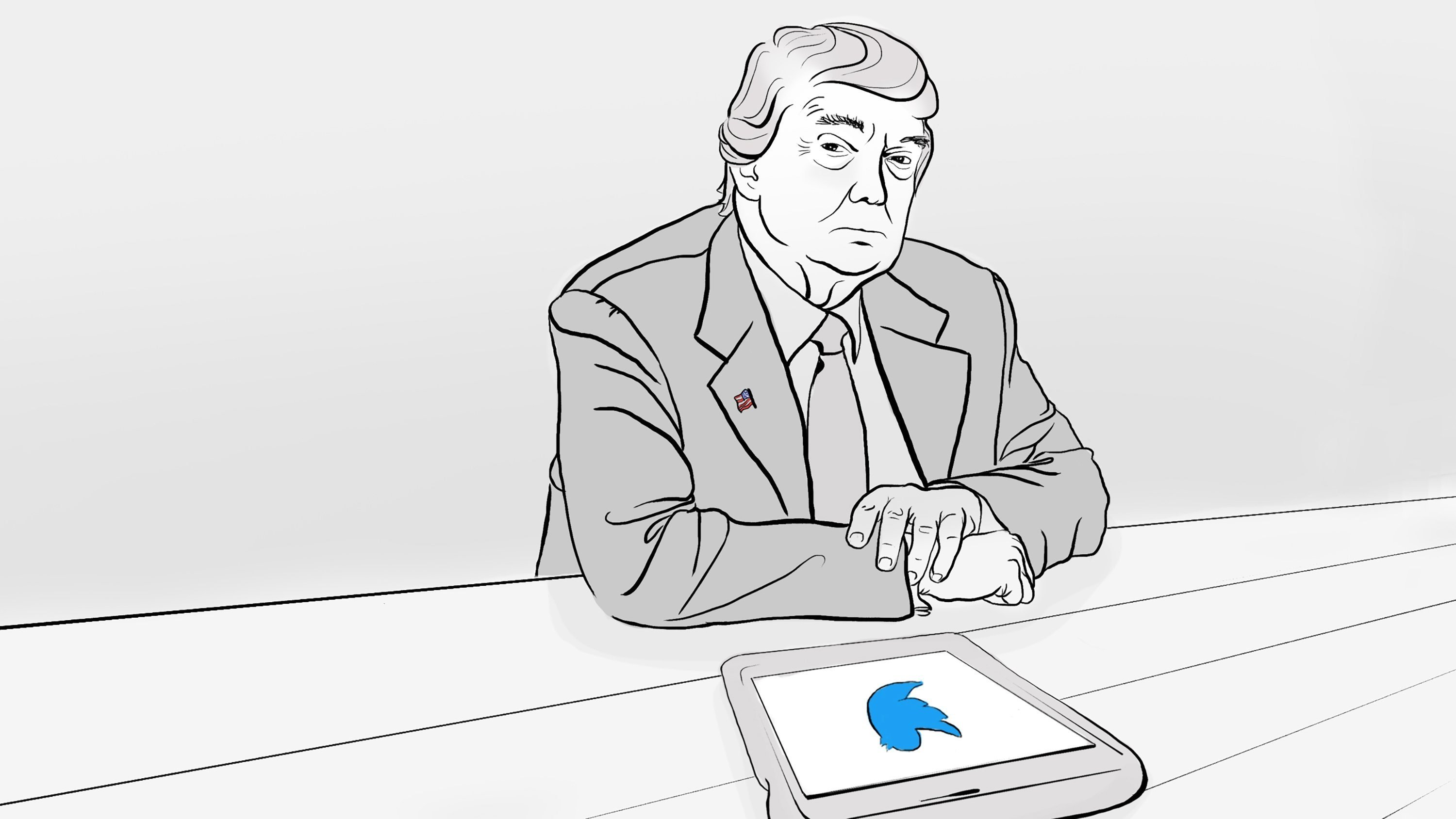 President Donald Trump is -- almost -- nowhere on Twitter right now. Over the past 48 hours, Trump has sent three tweets and retweeted one other thing. That's it. By comparison, Trump sent 10 tweets and retweeted four other tweets in the previous two...