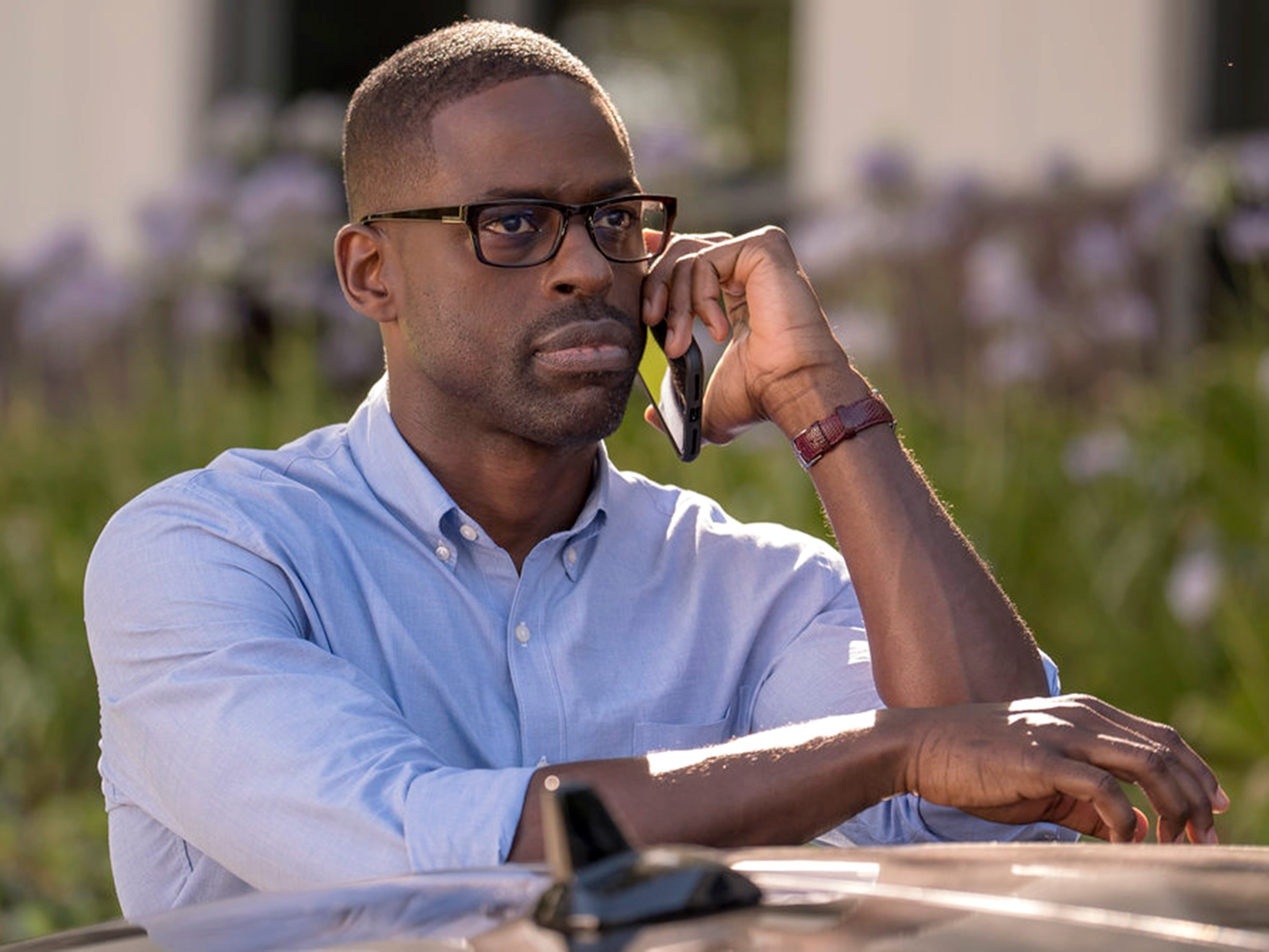 "Actor Sterling K. Brown is seen here in NBC's ""This Is Us"""