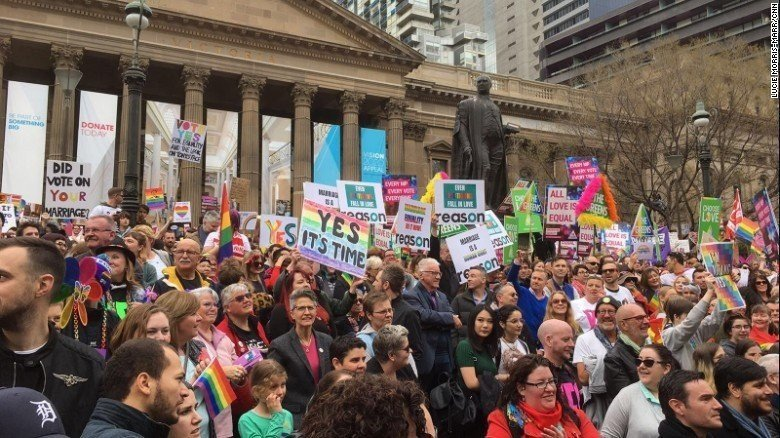 Australia is the closest it has ever been to legalizing same-sex marriage.