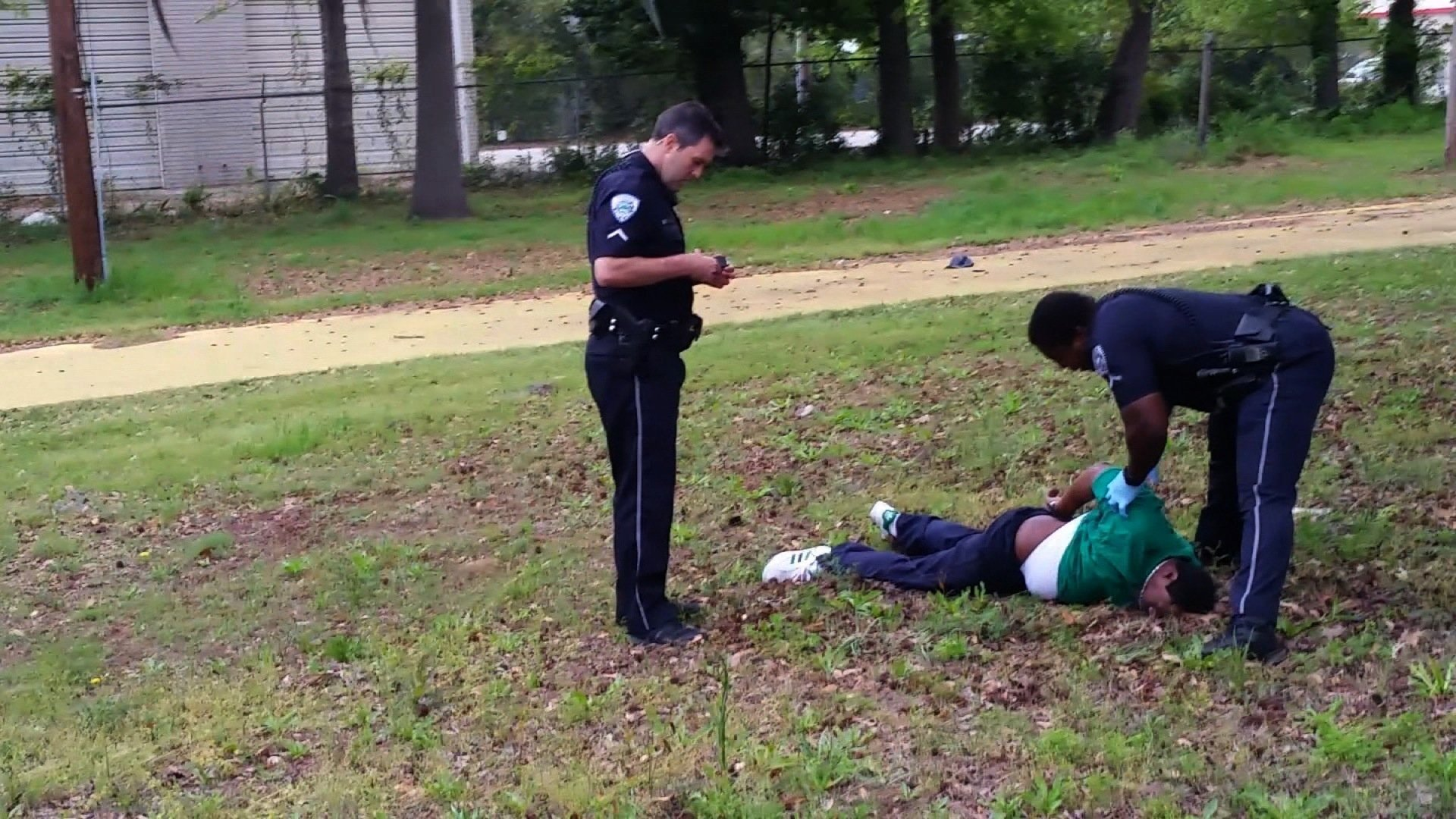 """A federal judge said Thursday, December 7, 2017, that the """"appropriate underlying offense"""" for the former South Carolina police officer who killed unarmed black man Walter Scott is second-degree murder and suggested a sentence of 19 to 24 years in prison."""