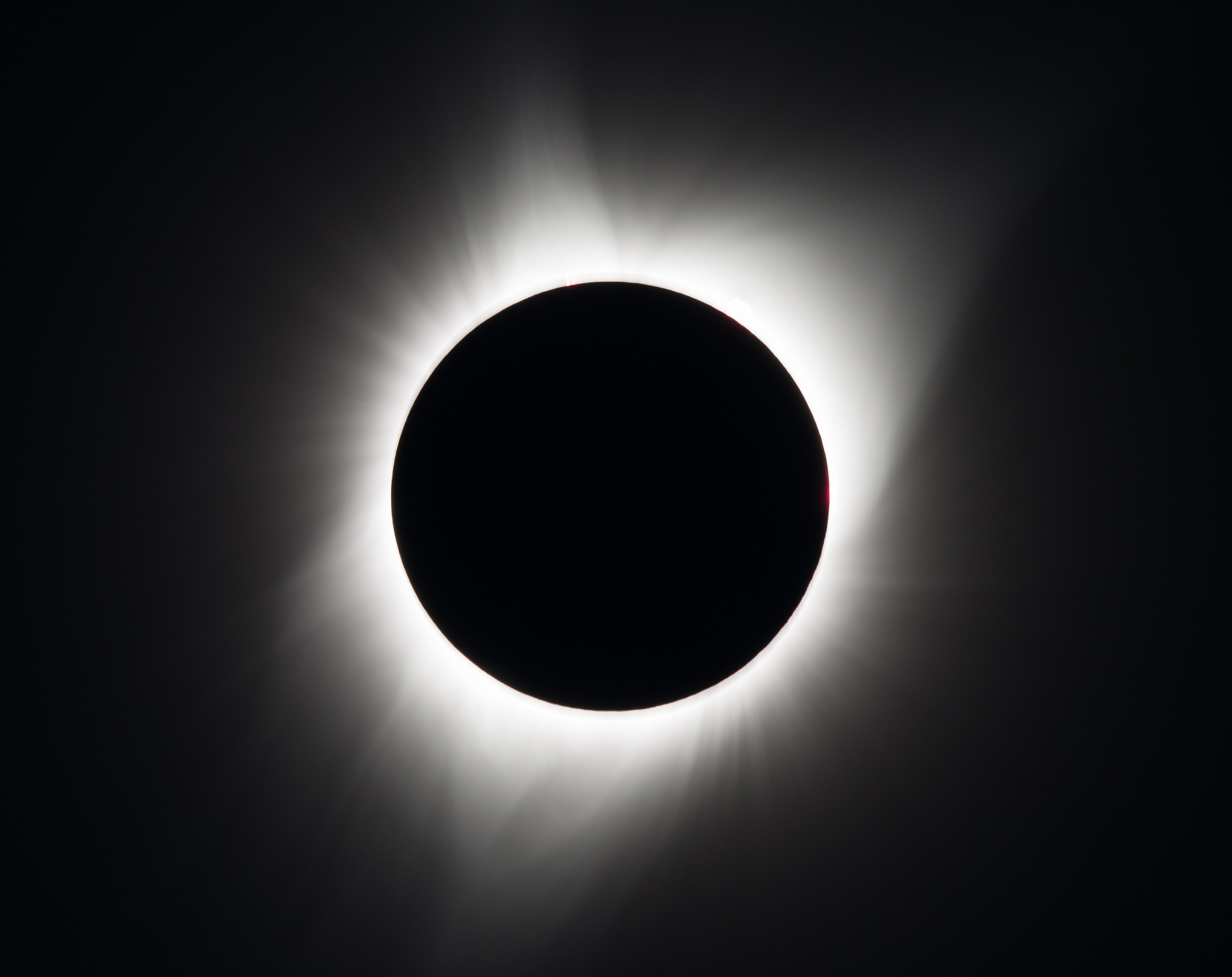 A total solar eclipse is seen on Monday, August 21, 2017 above Madras, Oregon. A total solar eclipse swept across a narrow portion of the contiguous United States from Lincoln Beach, Oregon to Charleston, South Carolina.