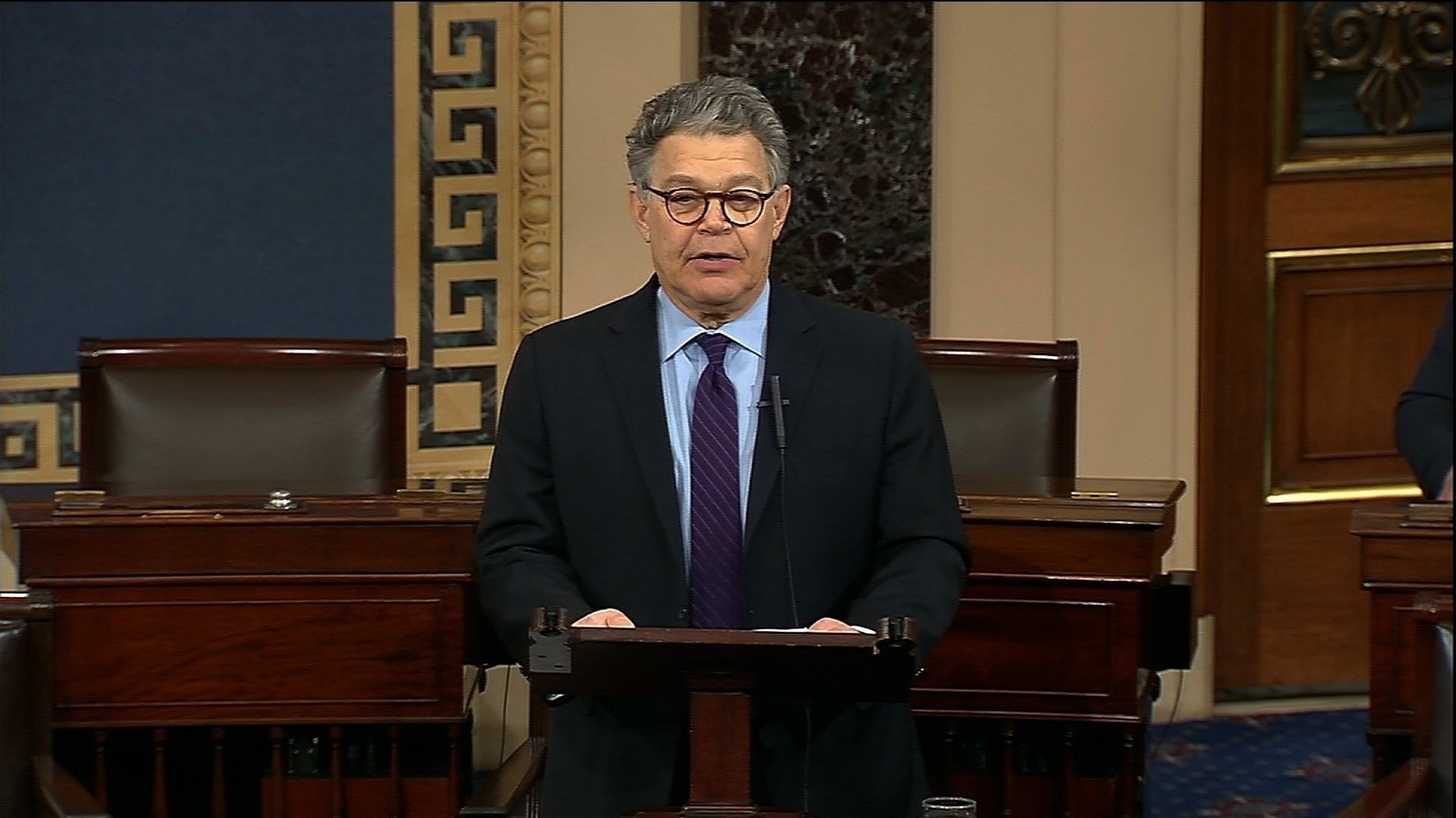 Senator Al Franken announced on Thursday, December 7, 2017, he will be resigning in the coming weeks.