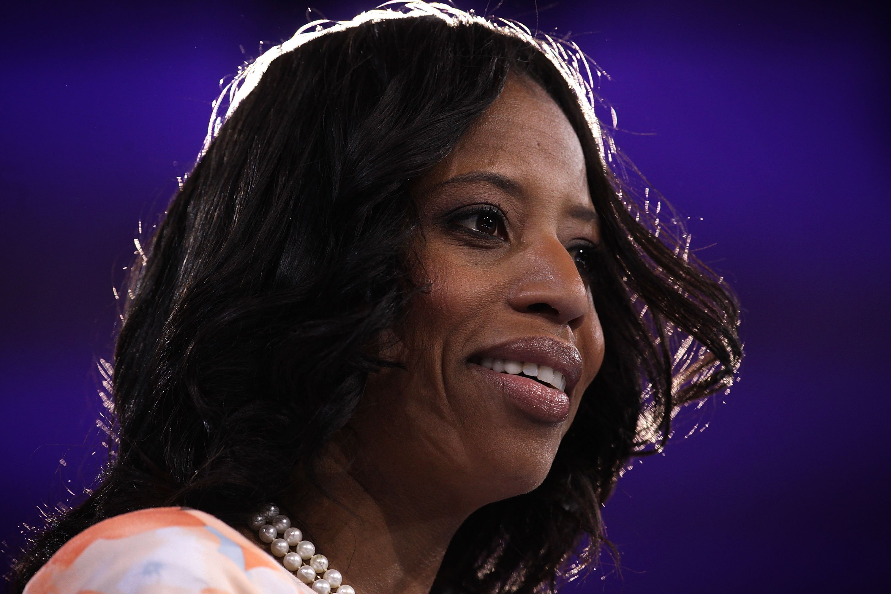 **This image is for use with this specific article only.**  U.S. Rep. Mia Love (R-UT) speaks during the Conservative Political Action Conference (CPAC) March 3, 2016 in National Harbor, Maryland. The American Conservative Union hosted its annual...