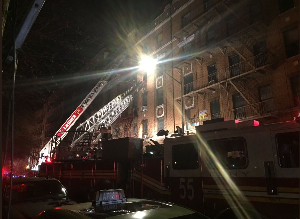 NY fire caused by child playing with stove