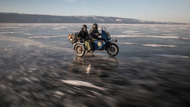 The grueling Ice Run in Russia fuels the adventure pangs of motorbike-loving petrol heads.