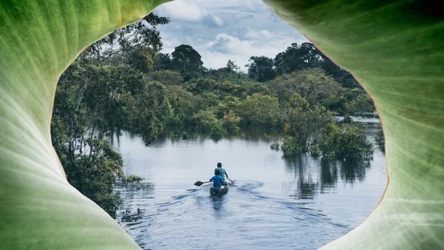 The legendary Amazon is the source of jungly adventures such as piranha fishing.