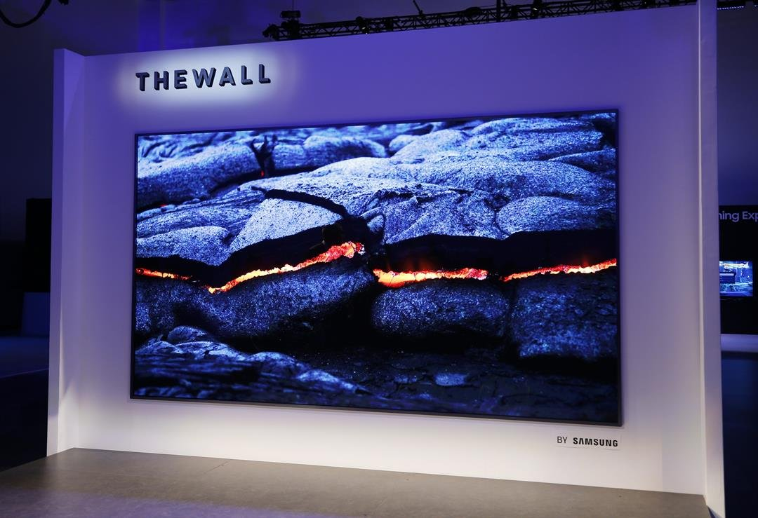 Samsung's 146-inch TV is appropriately named the company calls it The Wall