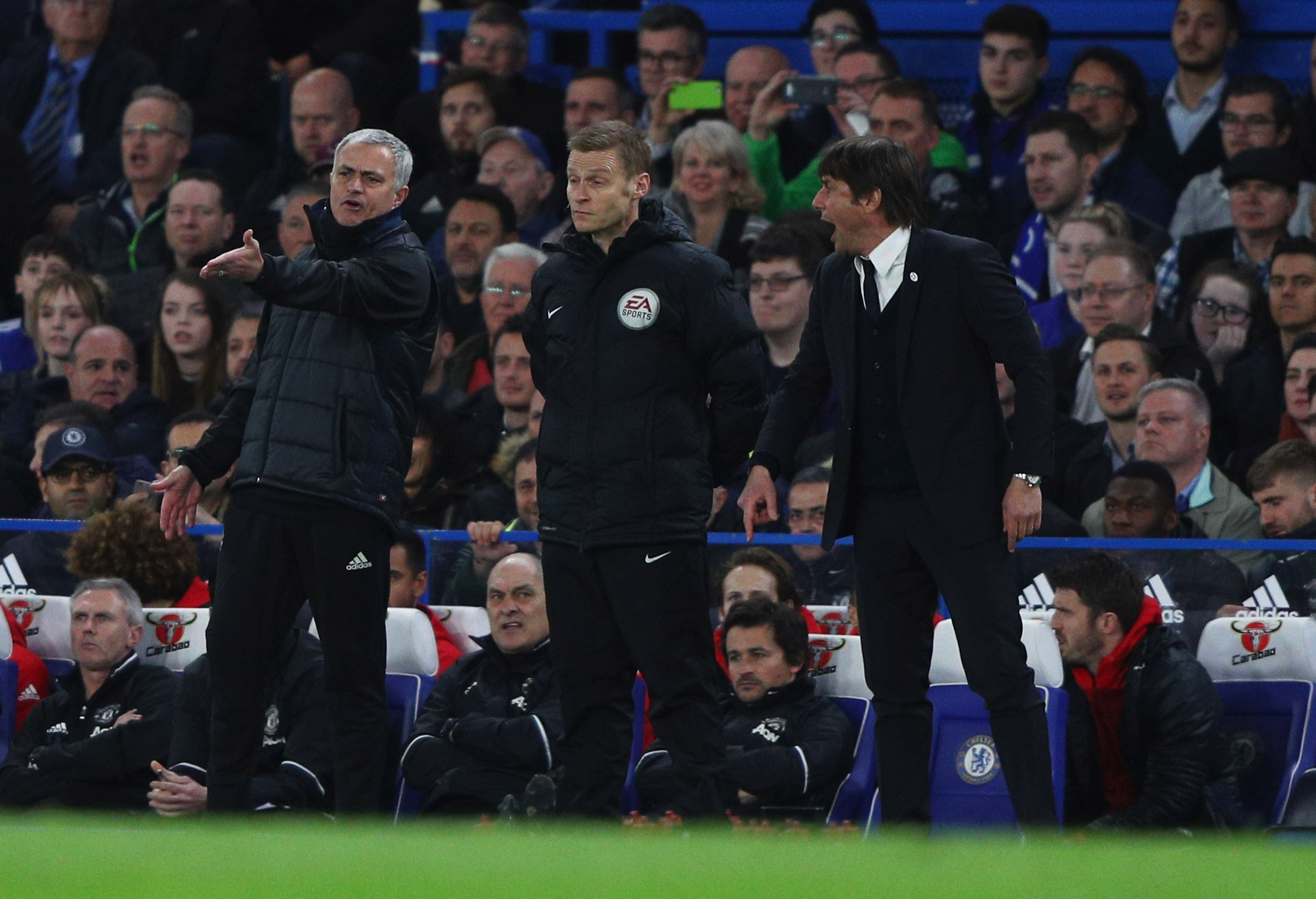 Antonio Conte Says He 'Won't Forget' Jose Mourinho's 'Serious' Comments