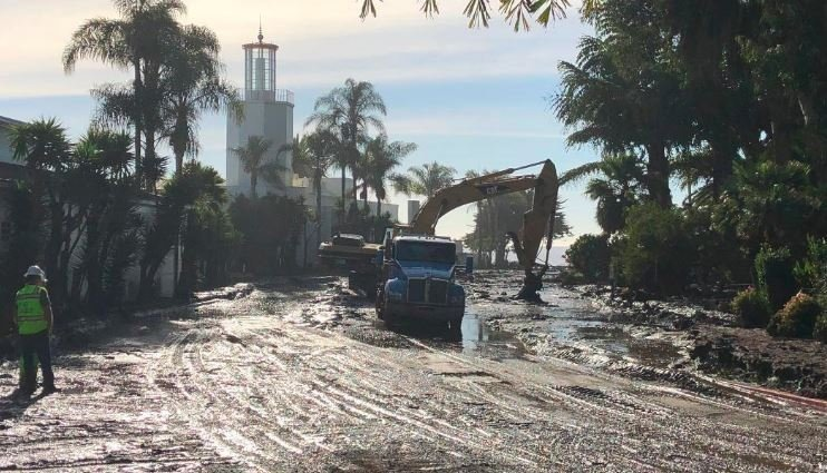 Search Continues For Hundreds After Mudslides In Southern California