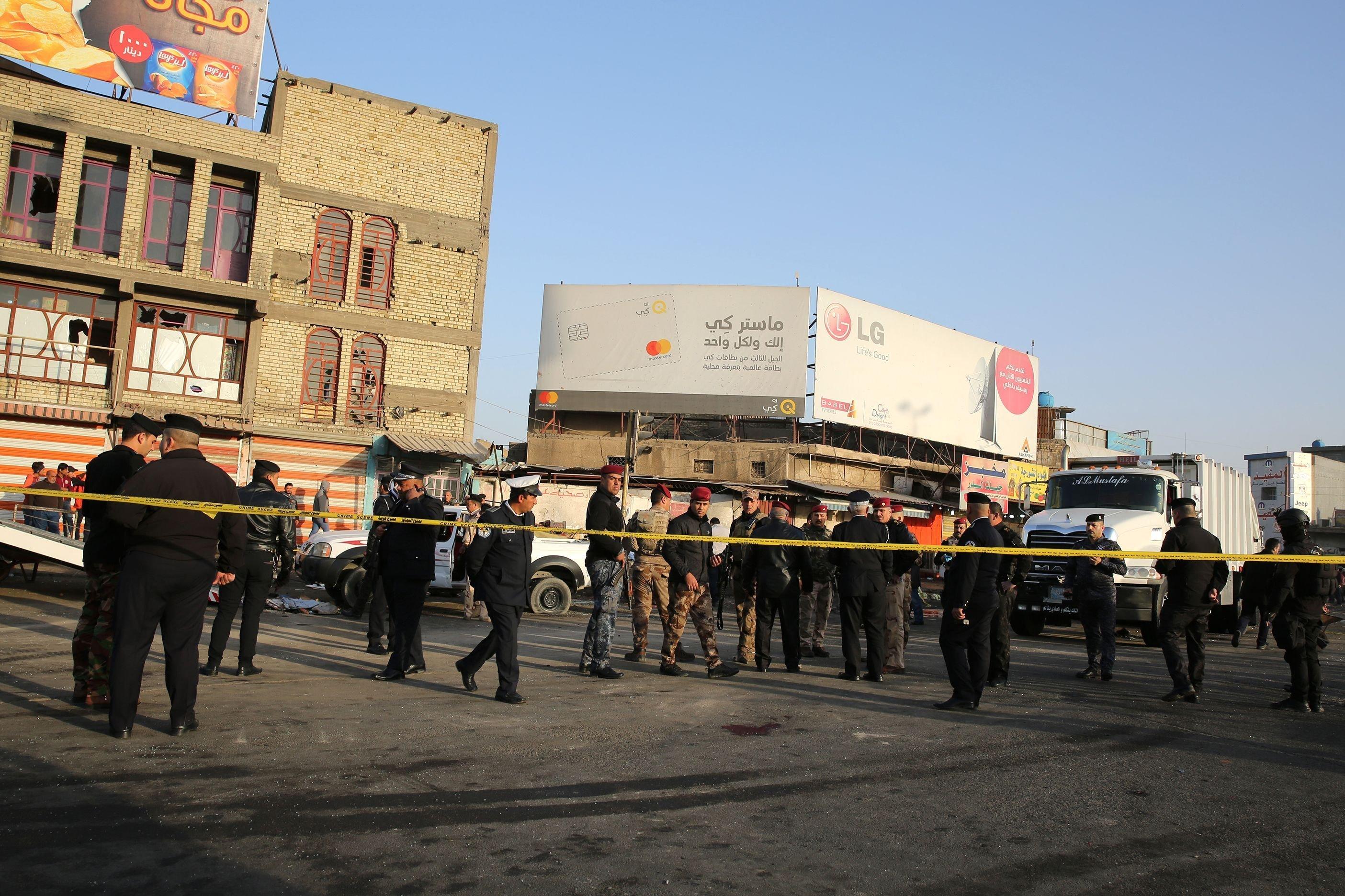 At least 16 killed in Baghdad twin bomb blasts