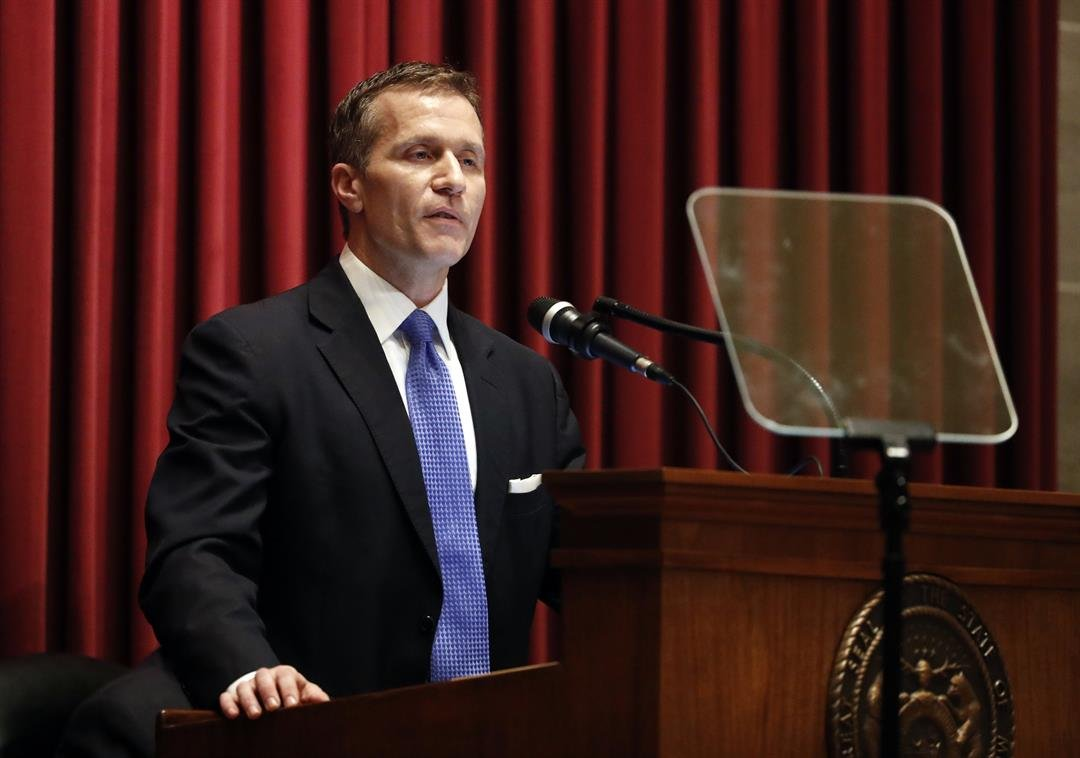 Members Of His Own Party Are Asking Missouri's Governor To Resign