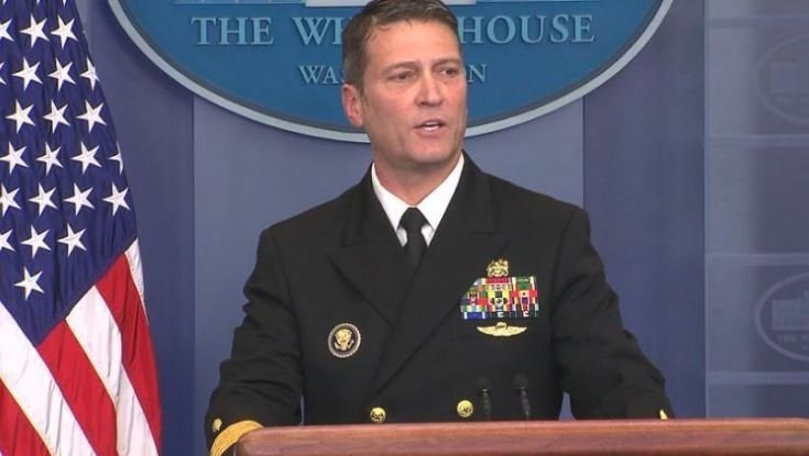 President Donald Trump's physician fielded questions from reporters on Trump's recent physical at the White House news briefing Tuesday. So who is Rear Adm. Ronny Jackson -- the doctor serving the executive branch?