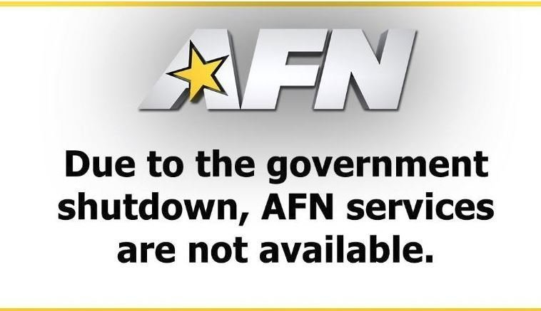 American Forces Network Off Air After Government Shutdown