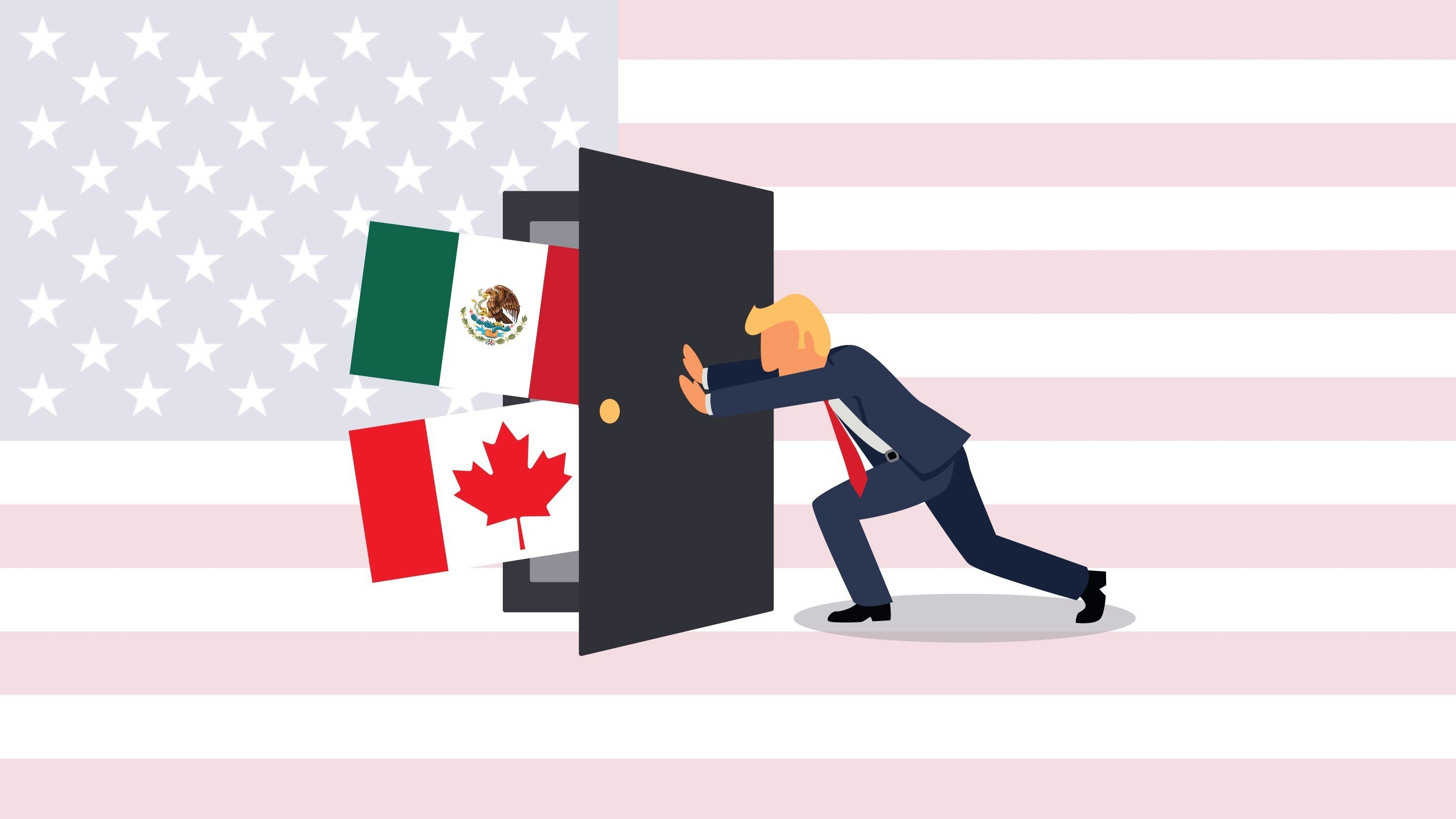 No major progress has been made on key issues through the first five rounds of the renegotiation of NAFTA