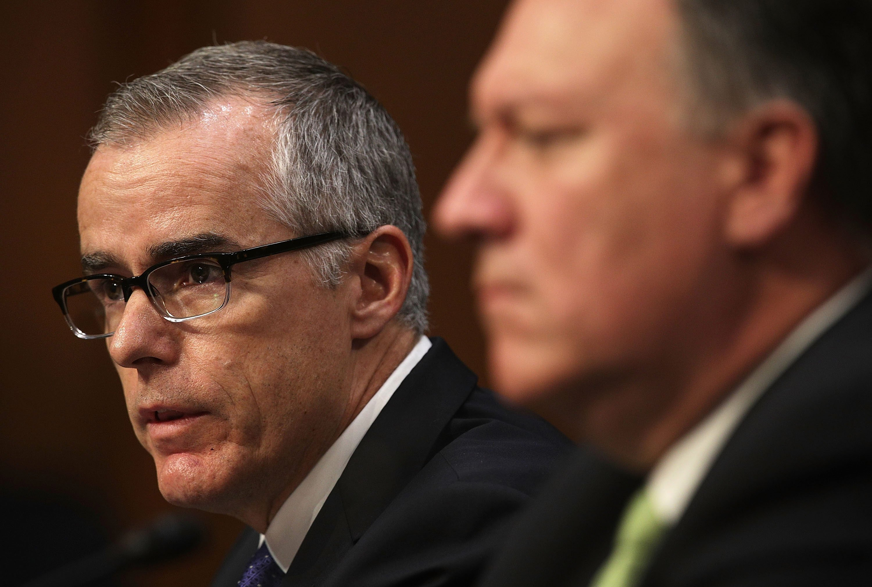 FBI Director Threatened To Resign Over Pressure To Fire McCabe