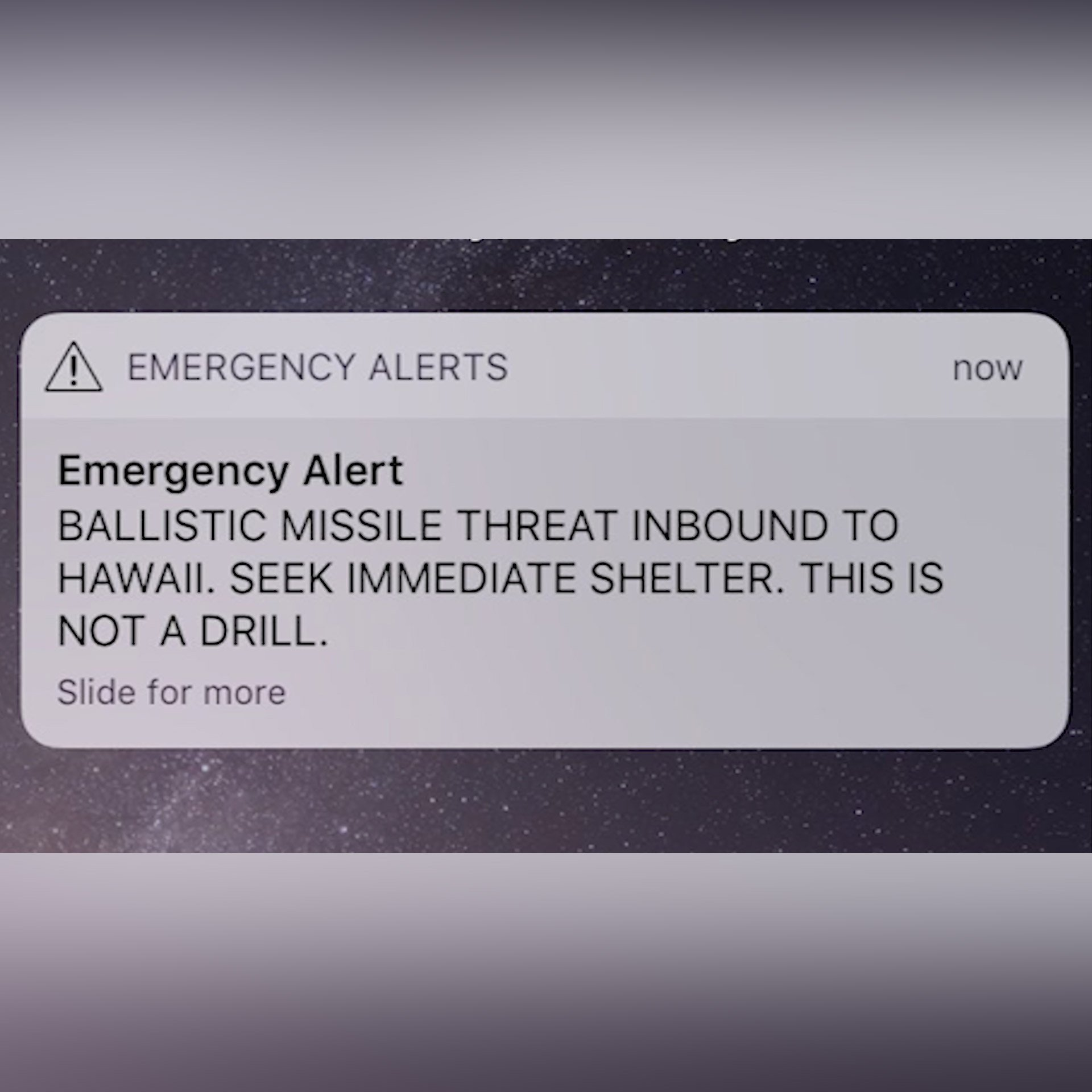 Report issued on Hawaii false missile alert
