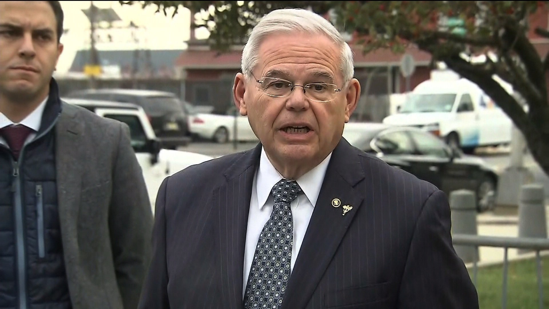 The Justice Department Wednesday filed to dismiss its remaining charges against Sen. Bob Menendez likely bringing the legal case against the New Jersey Democrat to a close