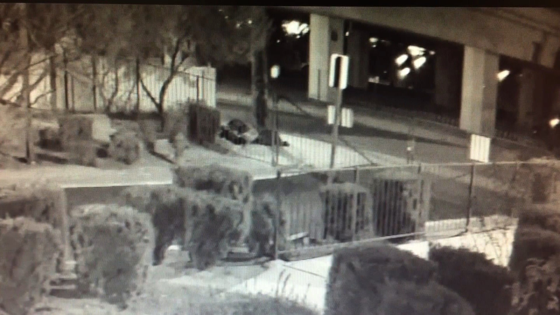 The video is chilling. James Edgar Lewis is sleeping under a Las Vegas freeway when a dark-colored SUV passes by. Seconds later, a man wearing a dark top emerges from the vehicle and shoots Lewis twice in the head before fleeing.