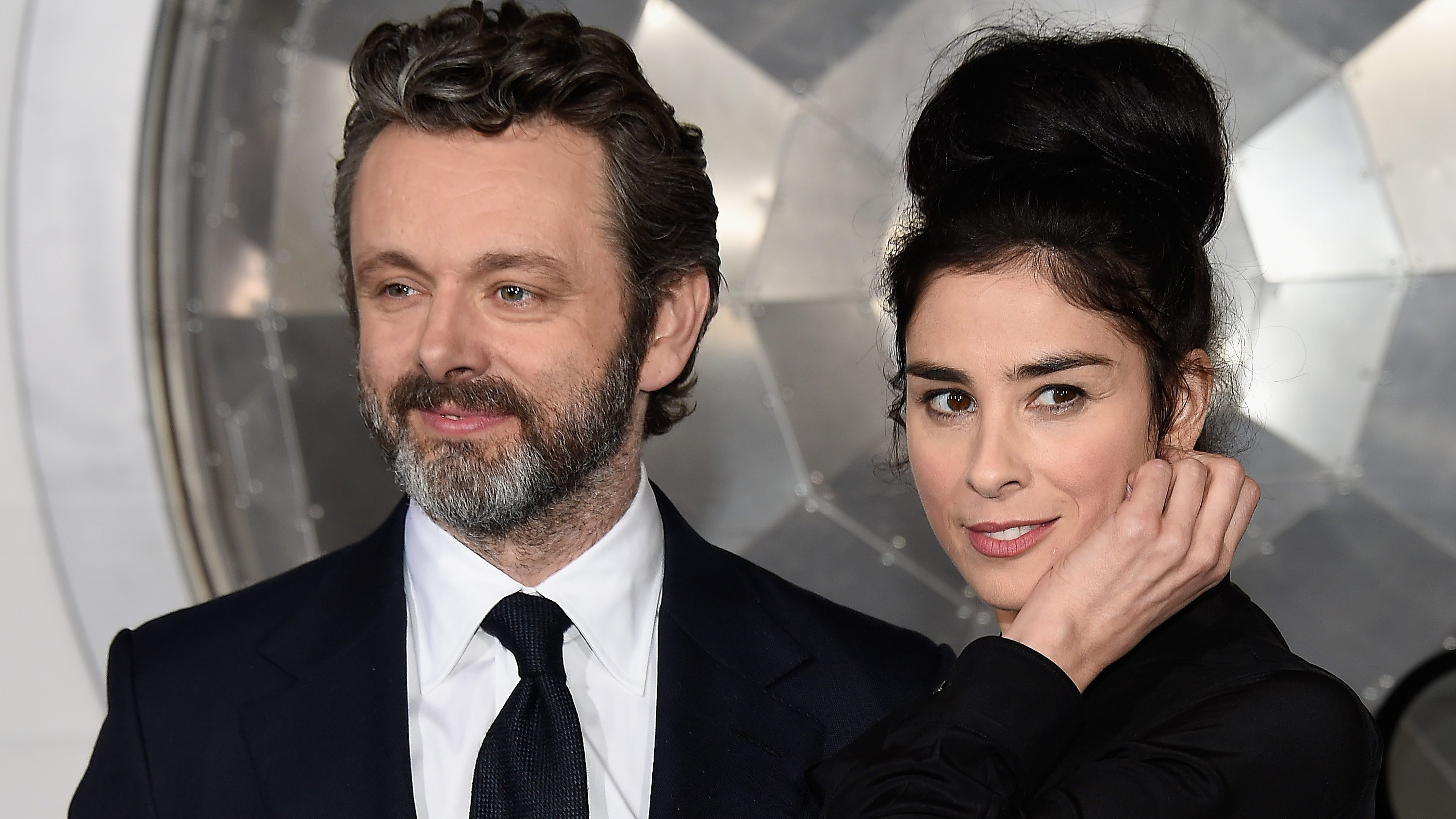 Leave it to Sarah Silverman to make a joke of her breakup. The comedian tweeted Monday that she has split with actor Michael Shee