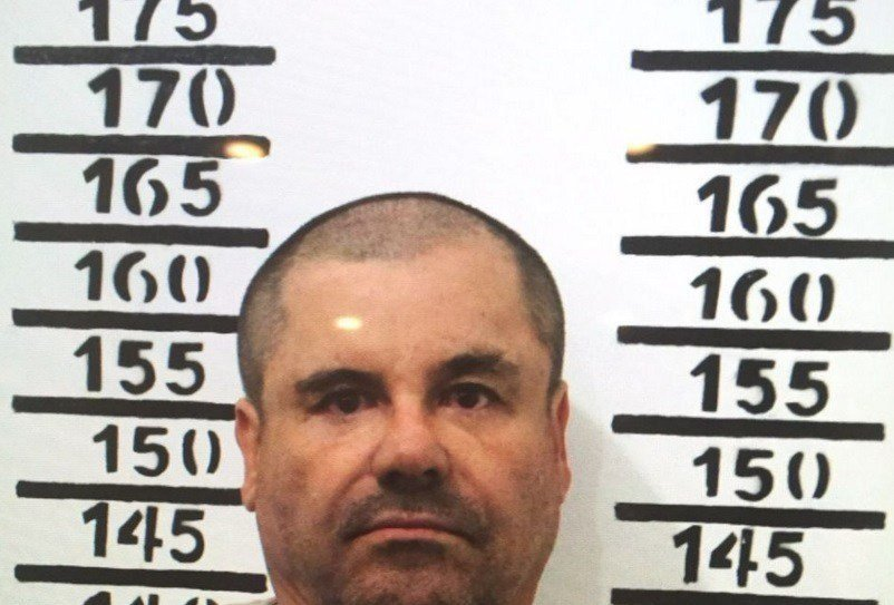 Mugshot of El Chapo after his arrest on January 8, 2016 by the prison he escaped from in summer 2015.  El Chapo's extradition to the United States has been approved, the Mexican ministry of foreign relations announced on May 20, 2016.