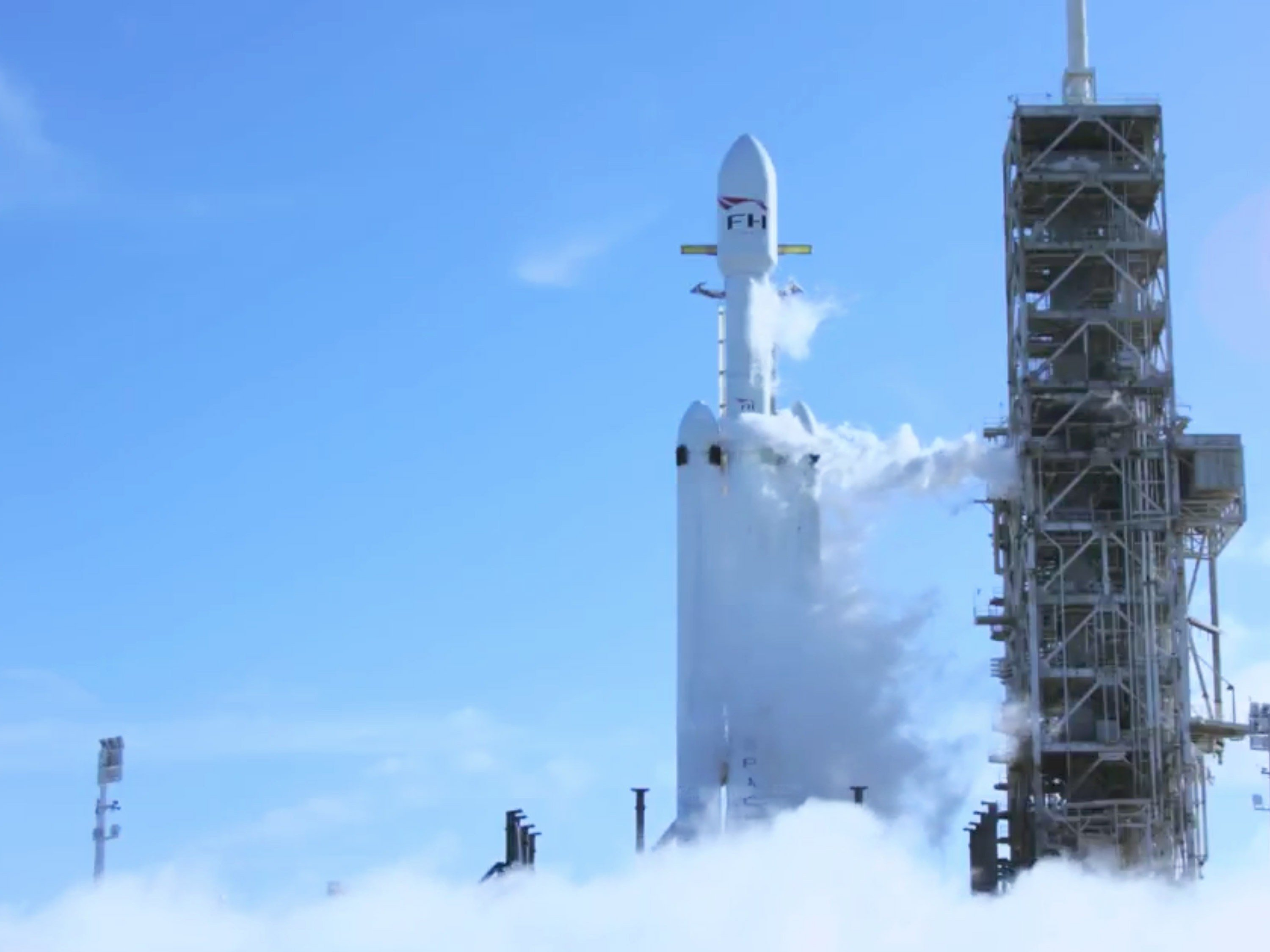 Musk cherry's Falcon gives Roadster ride to Mars