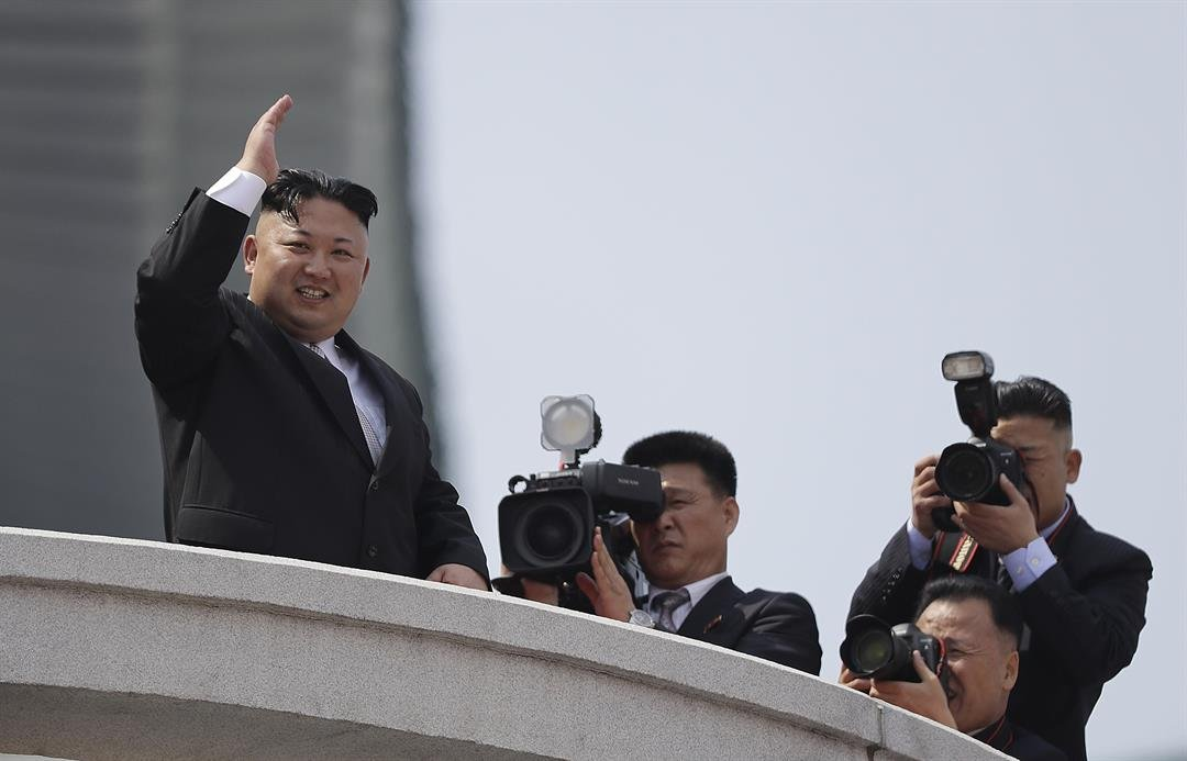 North Korea is expected to put on a show to rival South Korea's Olympic spectacle when it parades hundreds of missiles through the streets of Pyongyang Thursday.