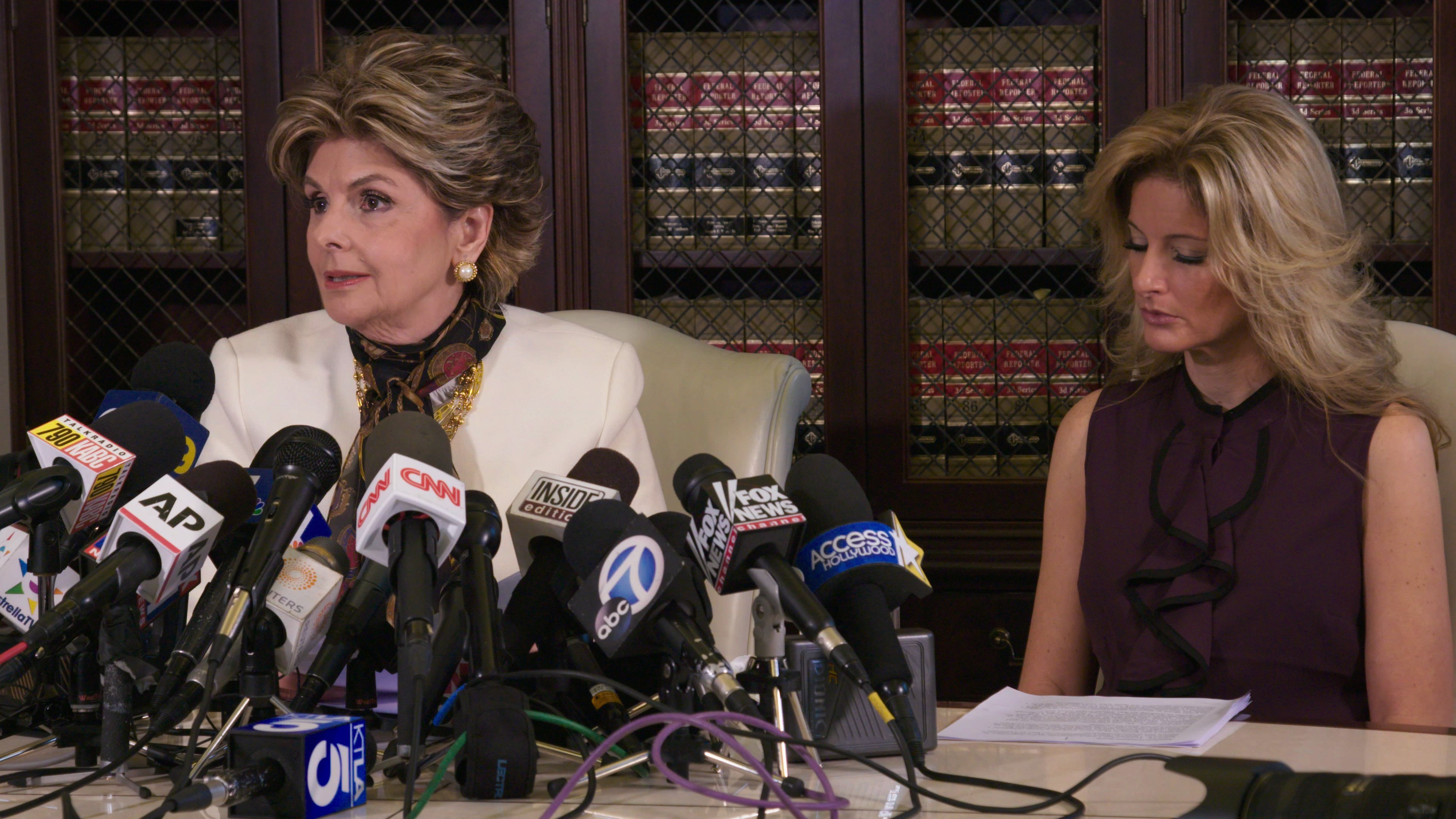 """Nobody will confuse """"Seeing Allred"""" with a hard-hitting expose; rather, this Netflix documentary unabashedly celebrates publicity-savvy attorney/advocate Gloria Allred, shedding some interesting light on her career, even if it's all flattering."""