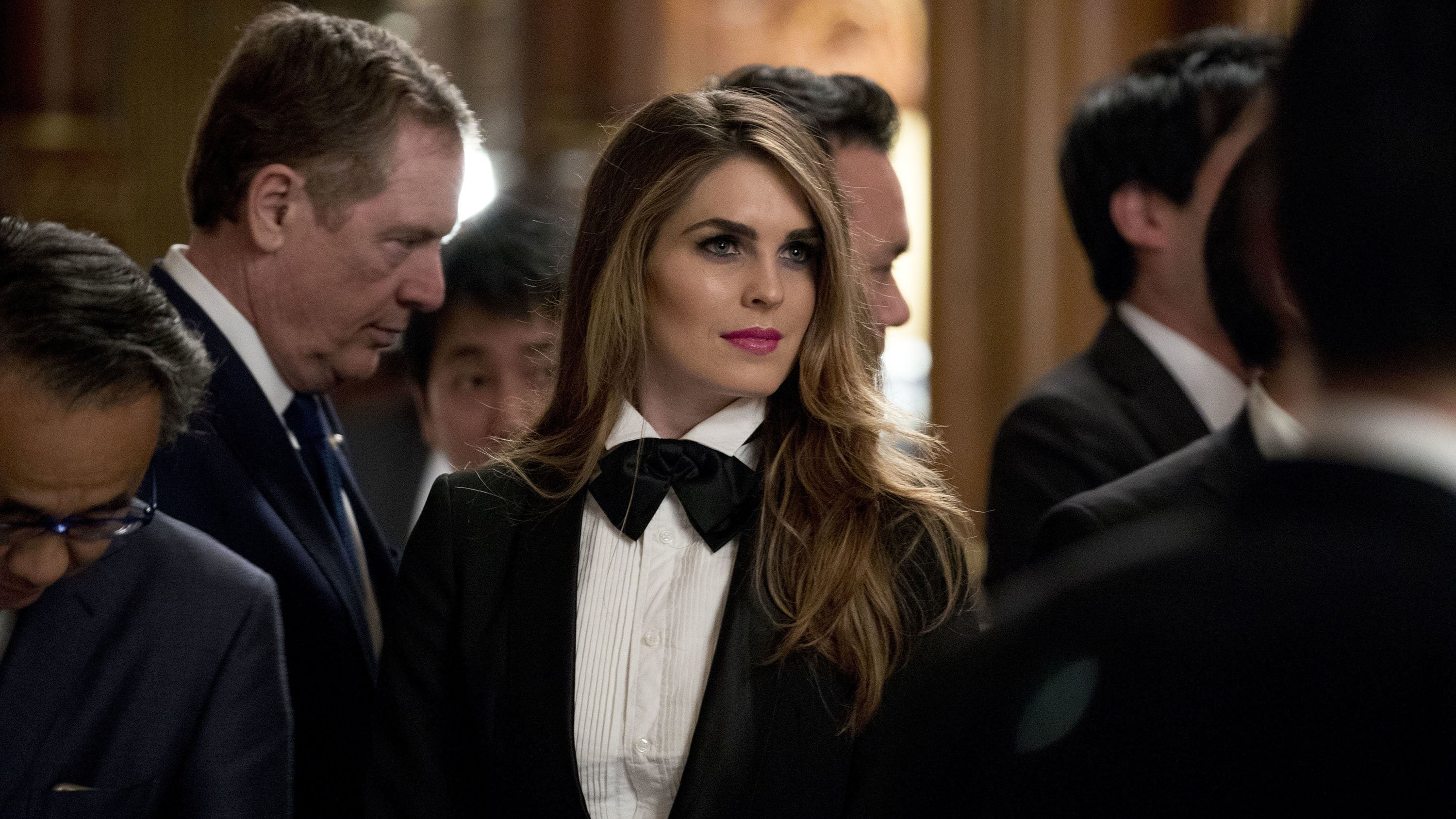 It took Hope Hicks seven years to go from college graduate to White House communications director.