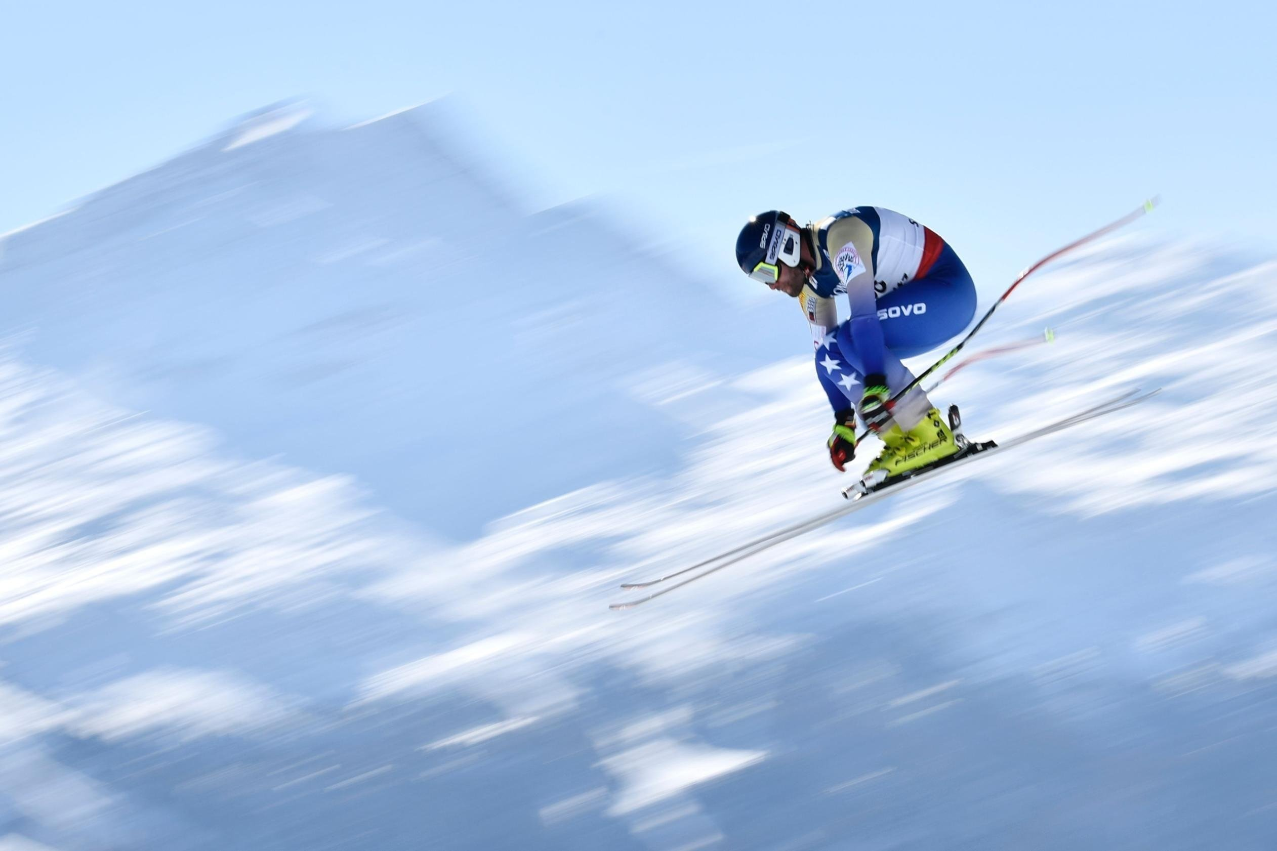 Full credit: Fabrice Coffrini/AFP/Getty Images  Albin Tahiri plans on competing in all five alpine skiing events in PyeongChang.