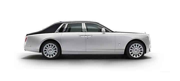 The Rolls-Royce Phantom is Rolls-Royce's largest and most expensive car. Prices start at a $450,000. It is also the lodestar for the brand.