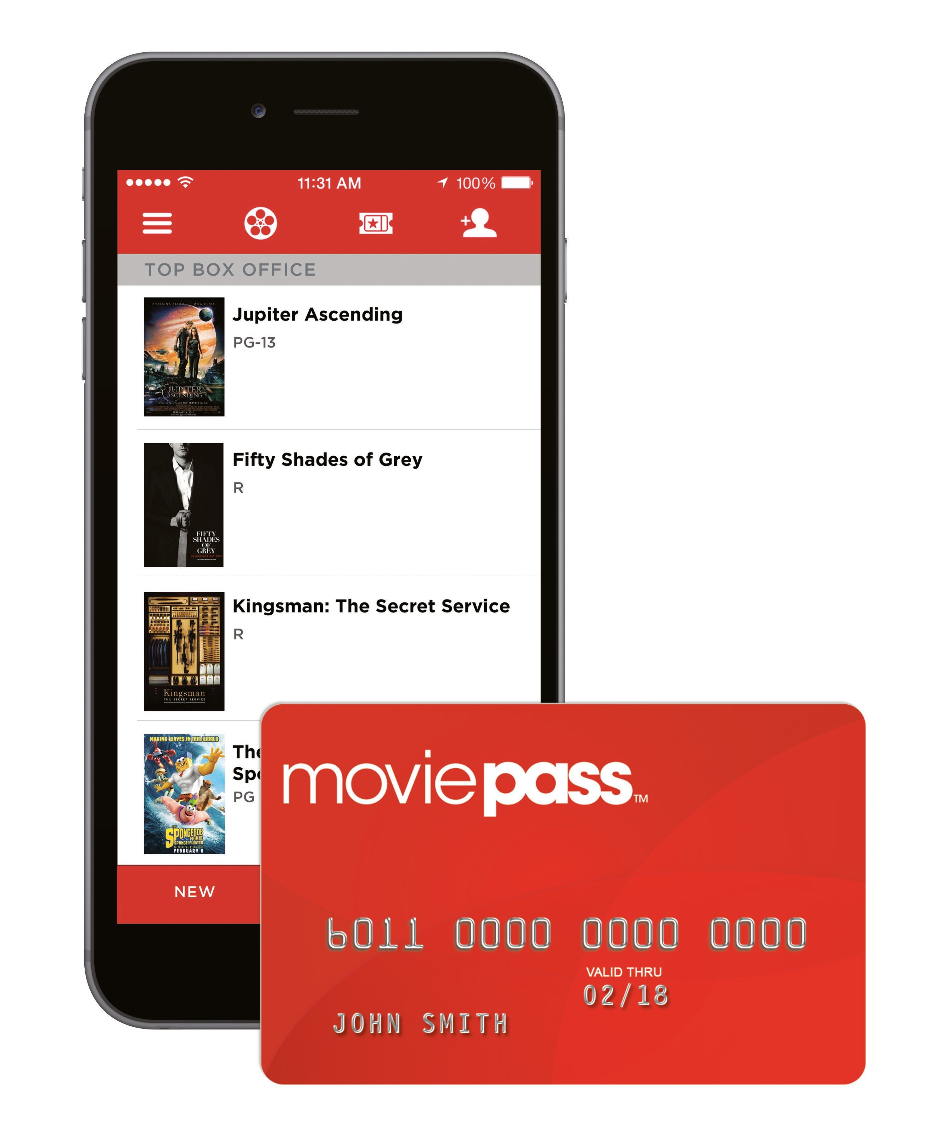 The $10 a month unlimited movie service just crossed two million subscribers less than one month after passing 1.5 million users, the company announced on Thursday.