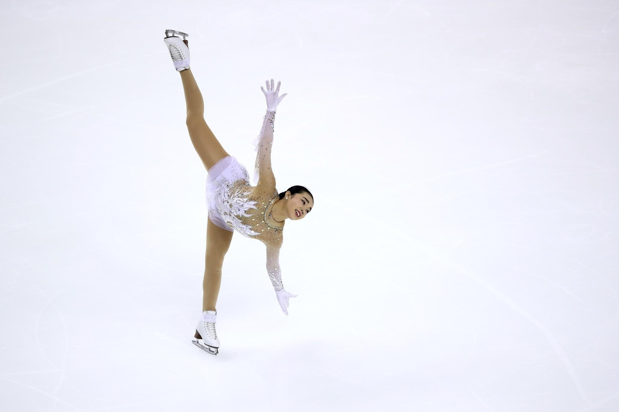 Karen Chen, 18, won gold at the US National Championship in 2017 and finished third in the 2018 competition.