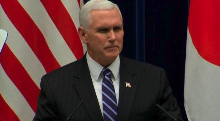 """Vice President Mike Pence said he was """"appalled"""" by the allegations of domestic abuse against top White House staffer Rob Porter, and added that """"the White House has acknowledged that they could have handled it better."""""""