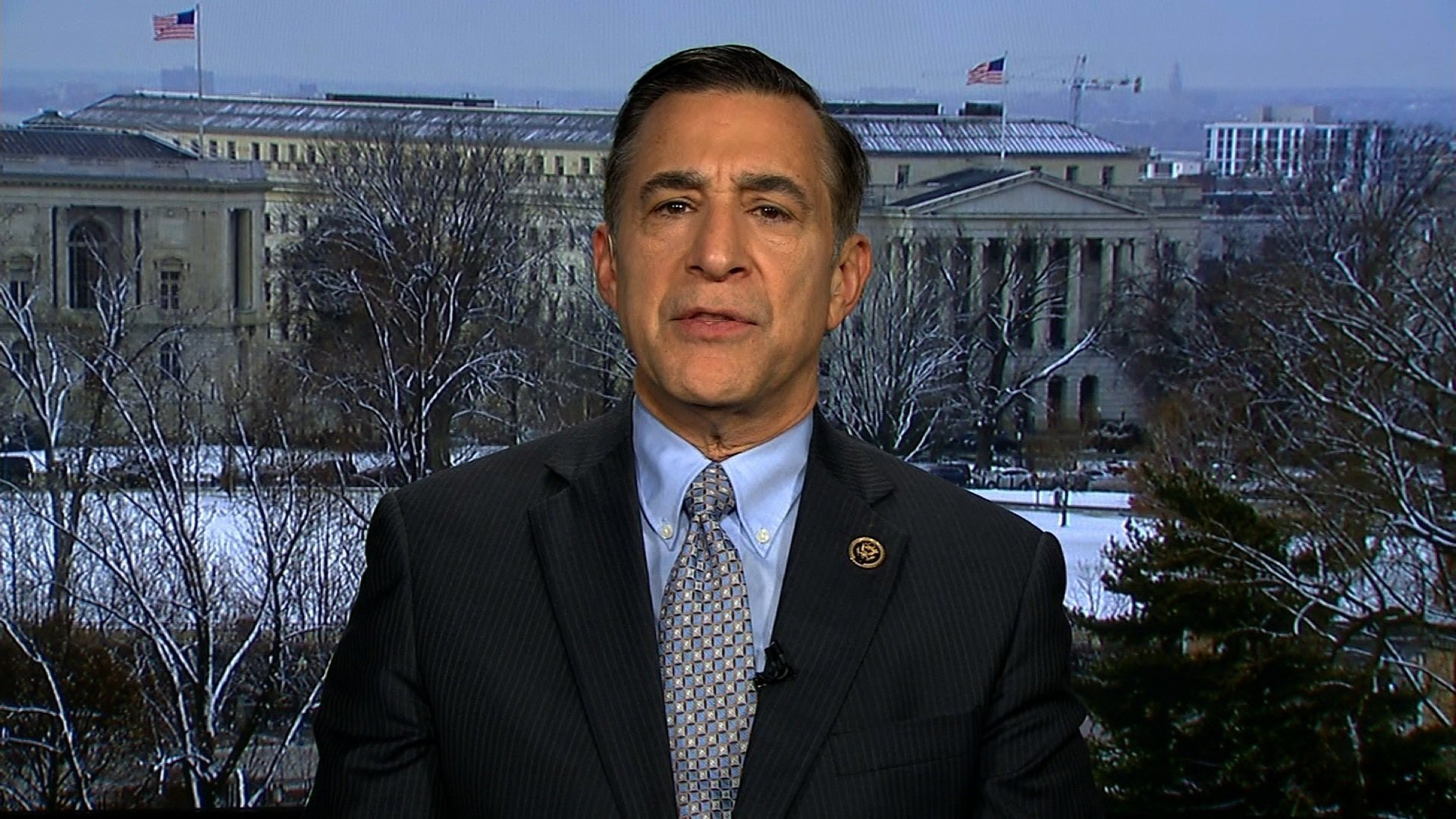 File- Ohio Rep. Michael Turner handed his fellow Republican colleague, California Rep. Darrell Issa, a letter on Capitol Hill last week asking for Issa to give a deposition in Turner's divorce case against his wife, Majida Turner.