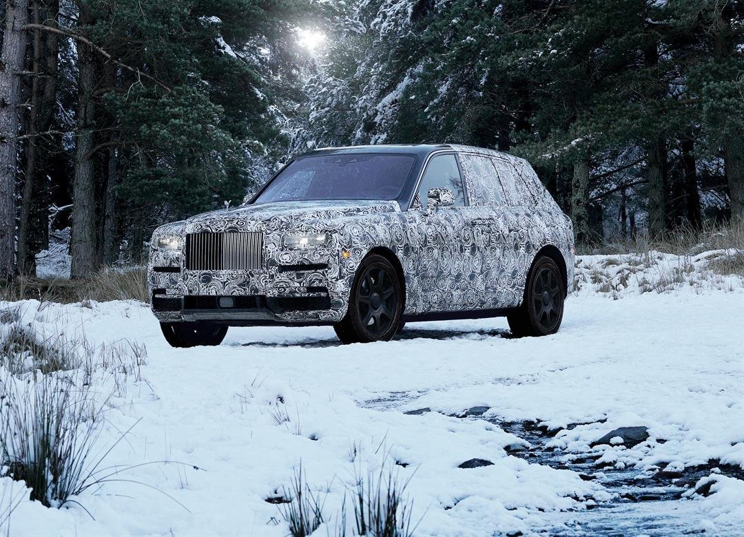 Rolls Royce's first SUV to be officially called the Cullinan