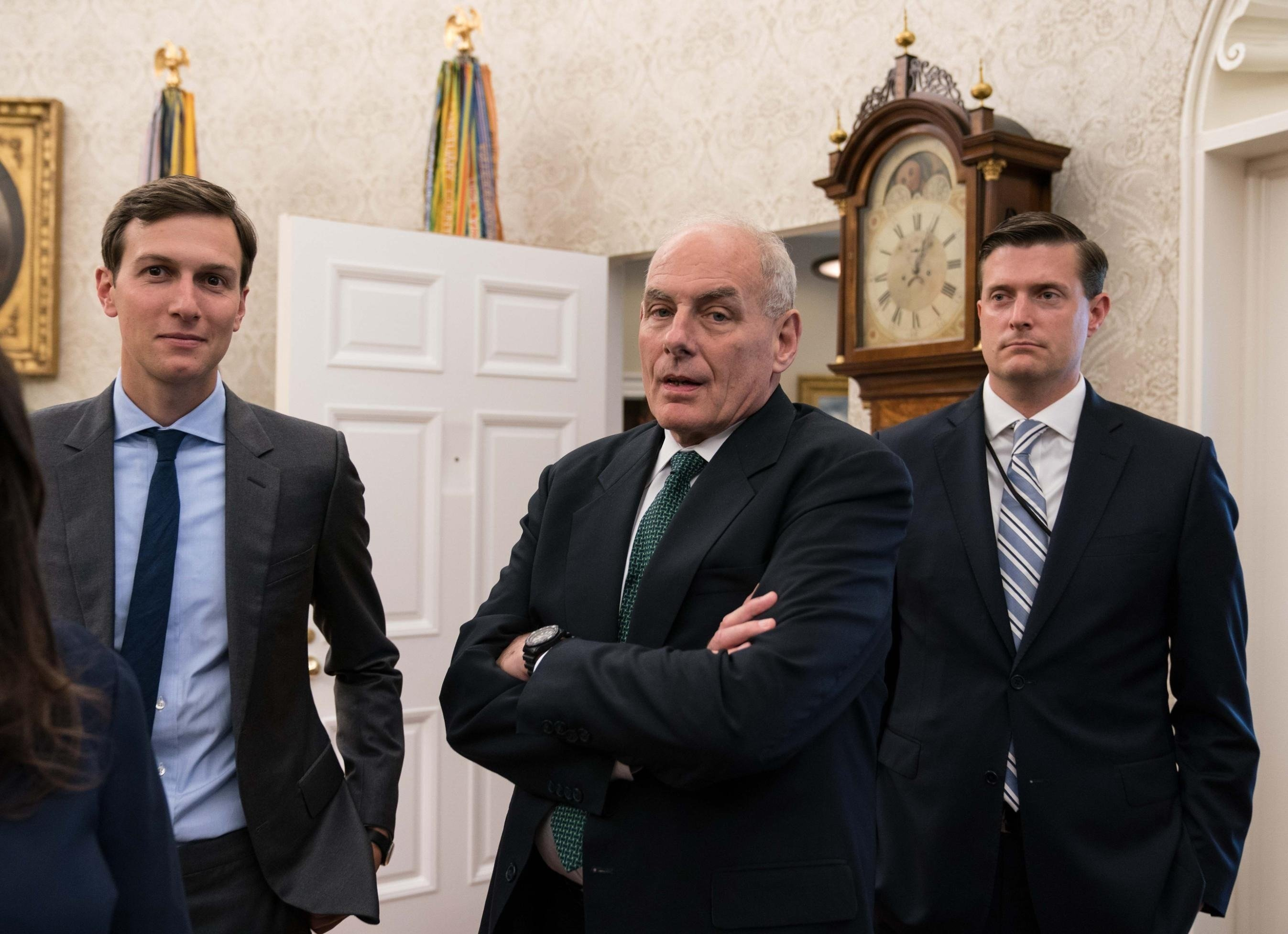 Republicans are growing increasingly concerned at President Donald Trump's inability to quiet the Rob Porter abuse scandal, which has engulfed the administration even as it works to capitalize on recent successes.
