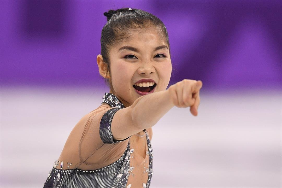 North Korea's Ryom Tae Ok competes in the pair skating short program of the figure skating event during the PyeongChang 2018 Winter Olympic Games.