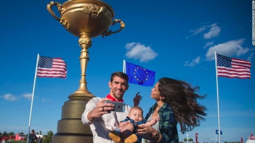 Michael Phelps and and his wife, Nicole, welcomed their second child this week as the Winter Olympics continued half a world away -- perfect timing for the son of the most decorated Olympian of all time.