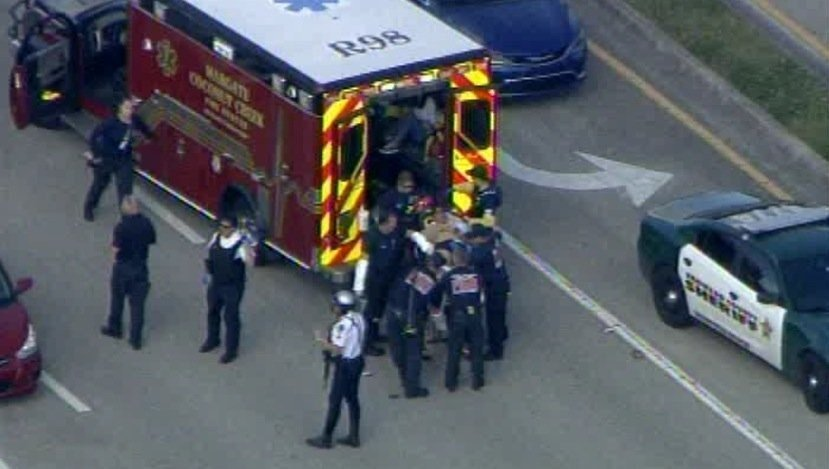 At least 17 dead, 14 wounded after shooting at Florida high school