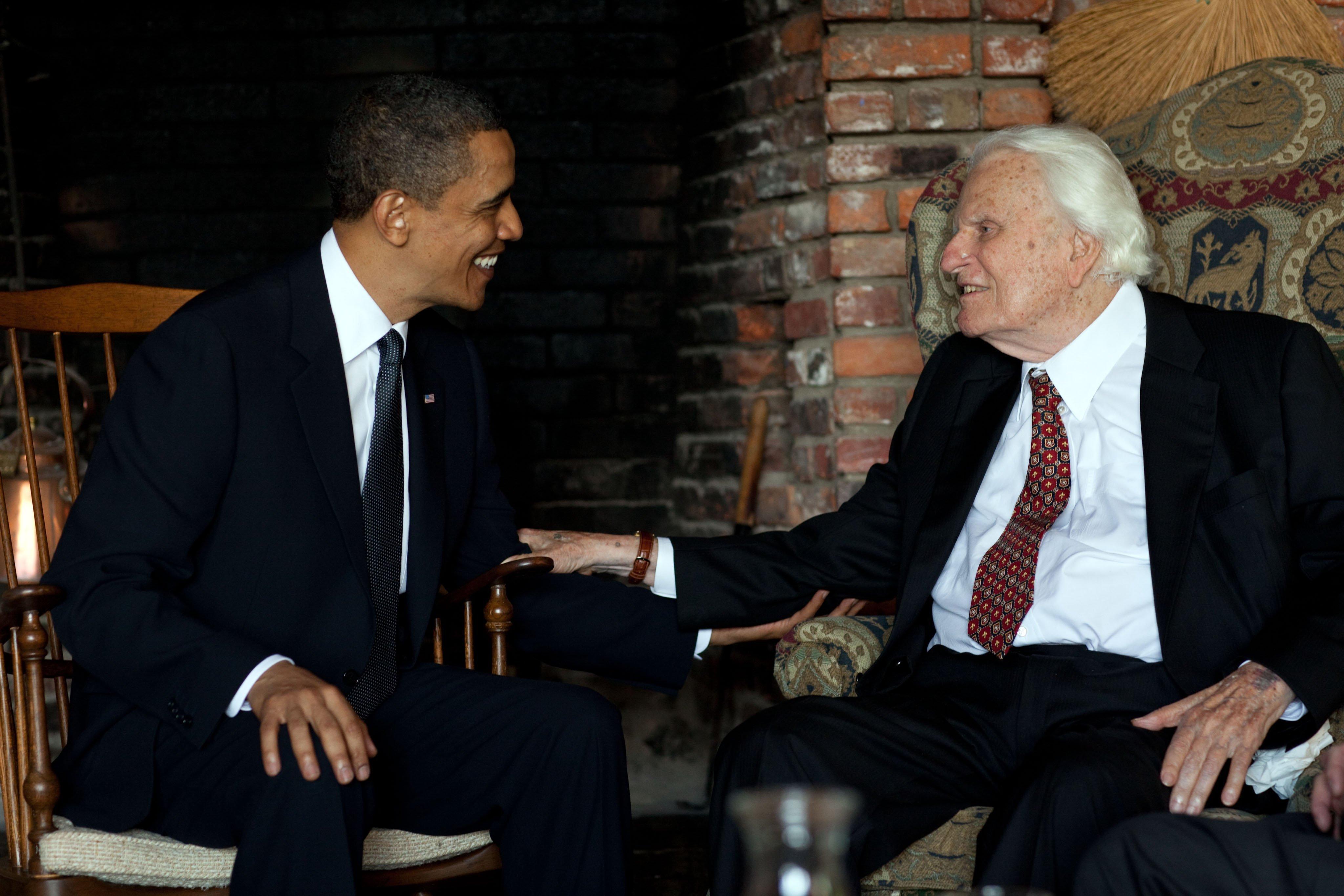 Evangelist preacher Billy Graham dies at 99