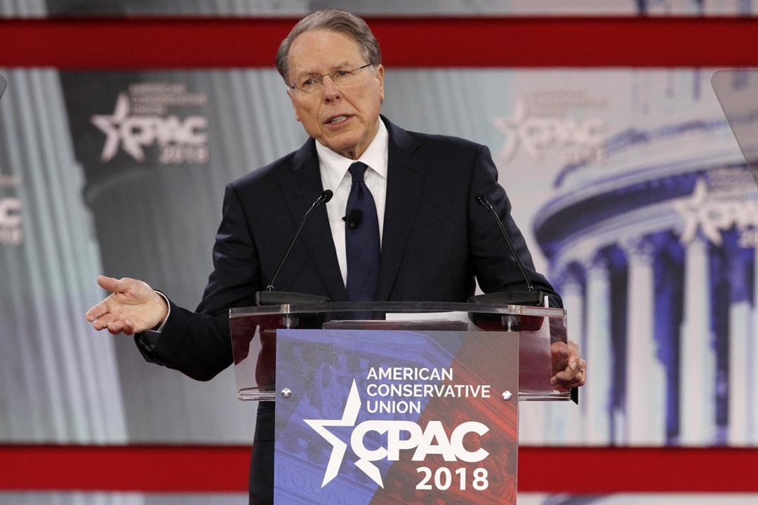 NRA head: Gun control advocates 'exploiting' Florida tragedy