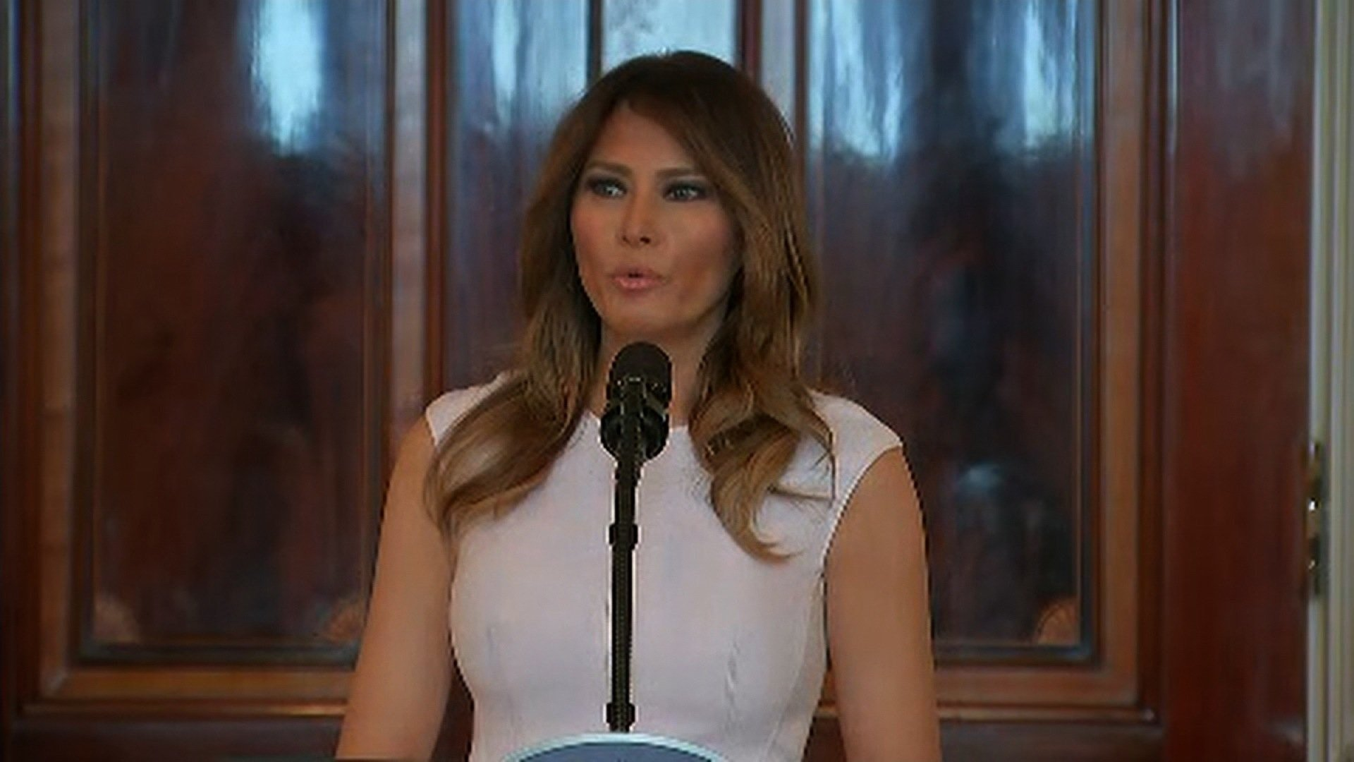 Melania Trump Delivers Powerful Speech In Response To School Shooting